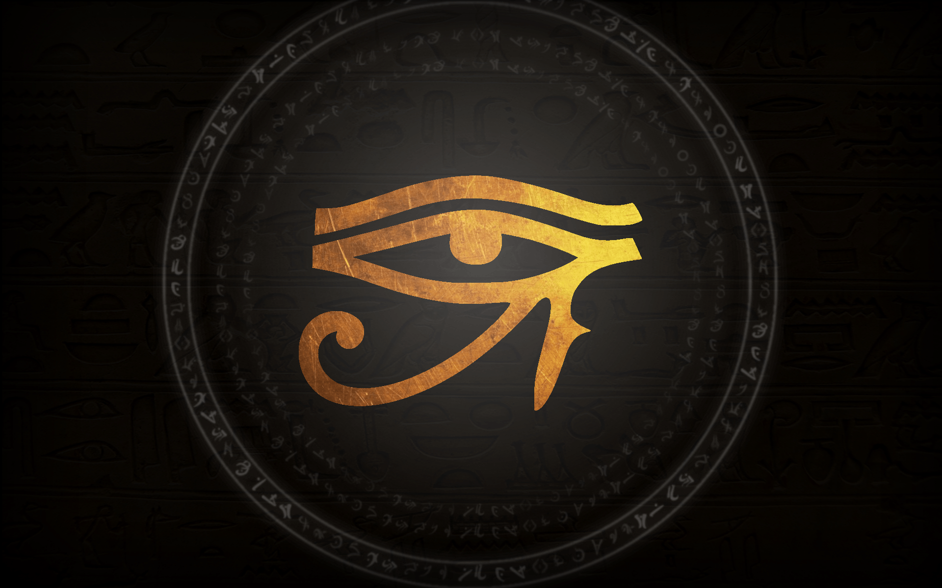 Eye Of Horus Wallpapers Wallpaper Cave