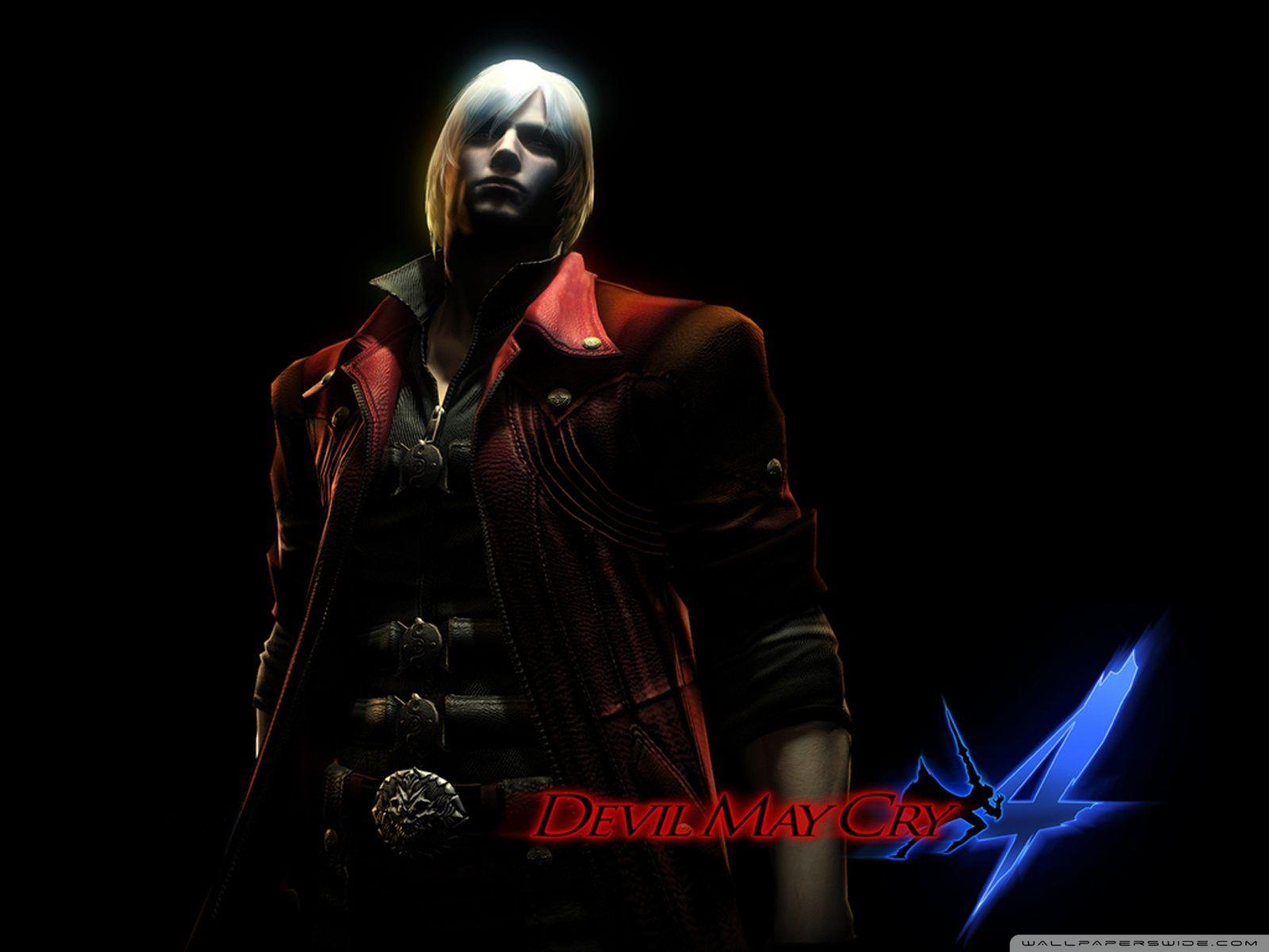 Devil May Cry 4 Dante Wallpapers Wallpaper Cave