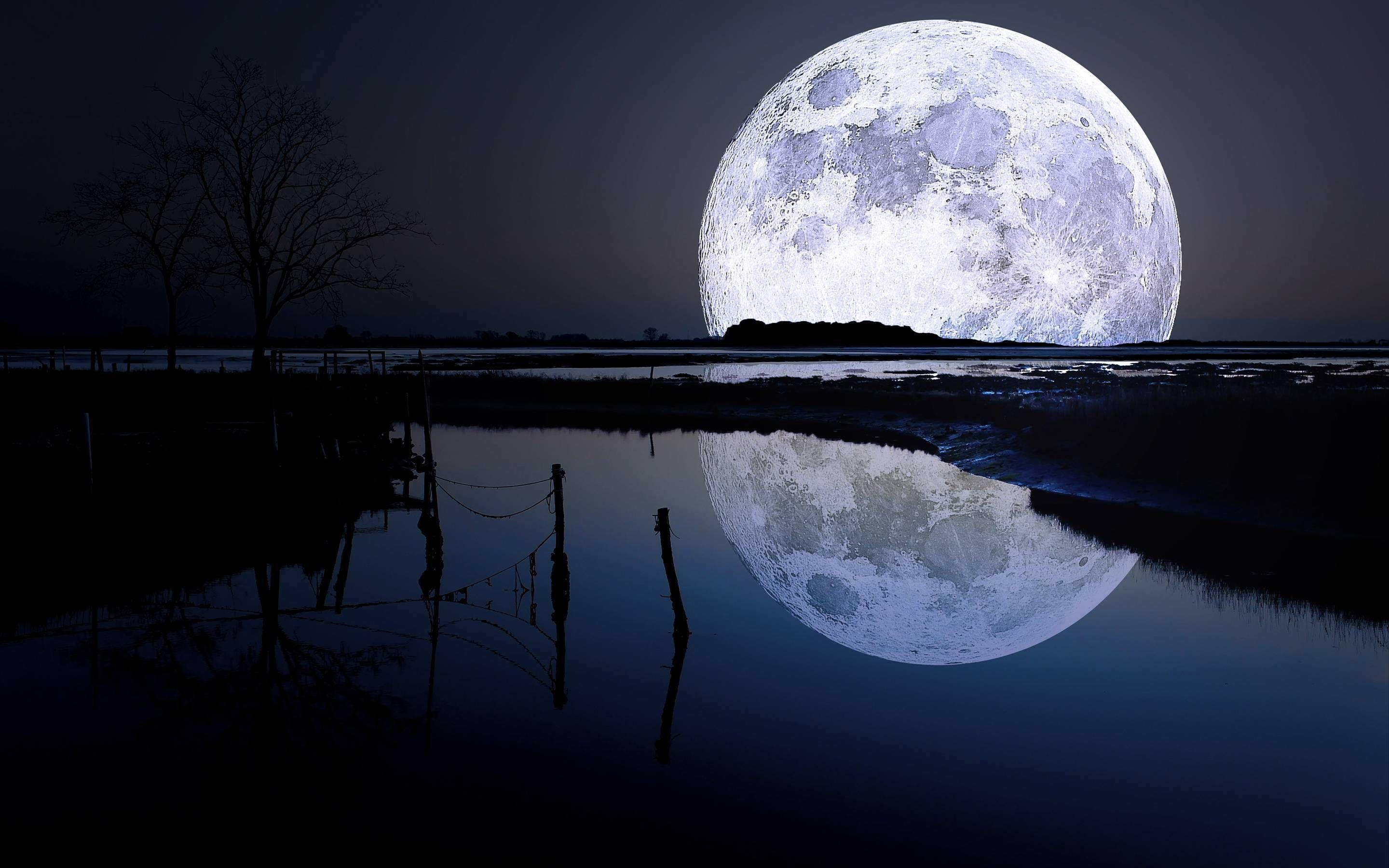 Full Moon Wallpaper Pics | Wallpaper | Pinterest | Moon on the water ...