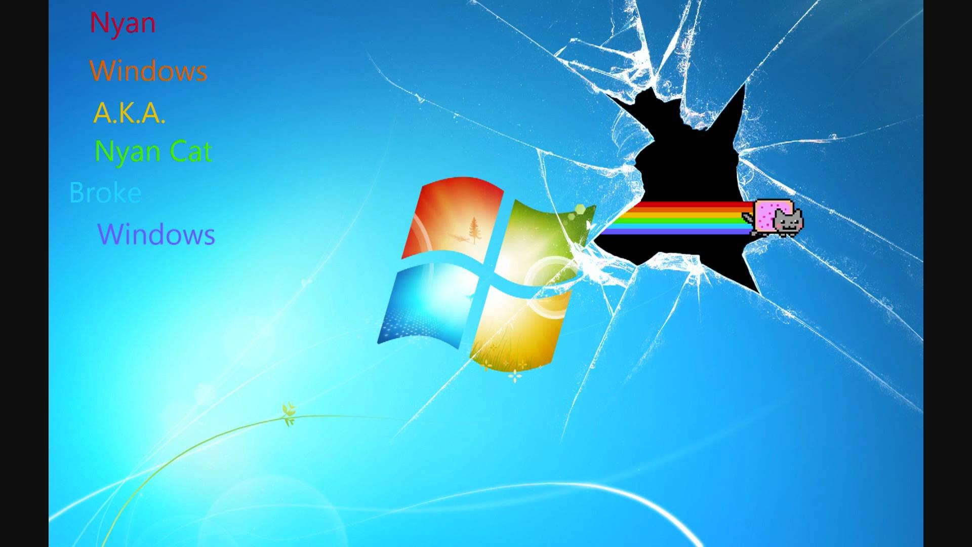 Windows 7 Wallpapers Broken Screen Wallpaper Cave