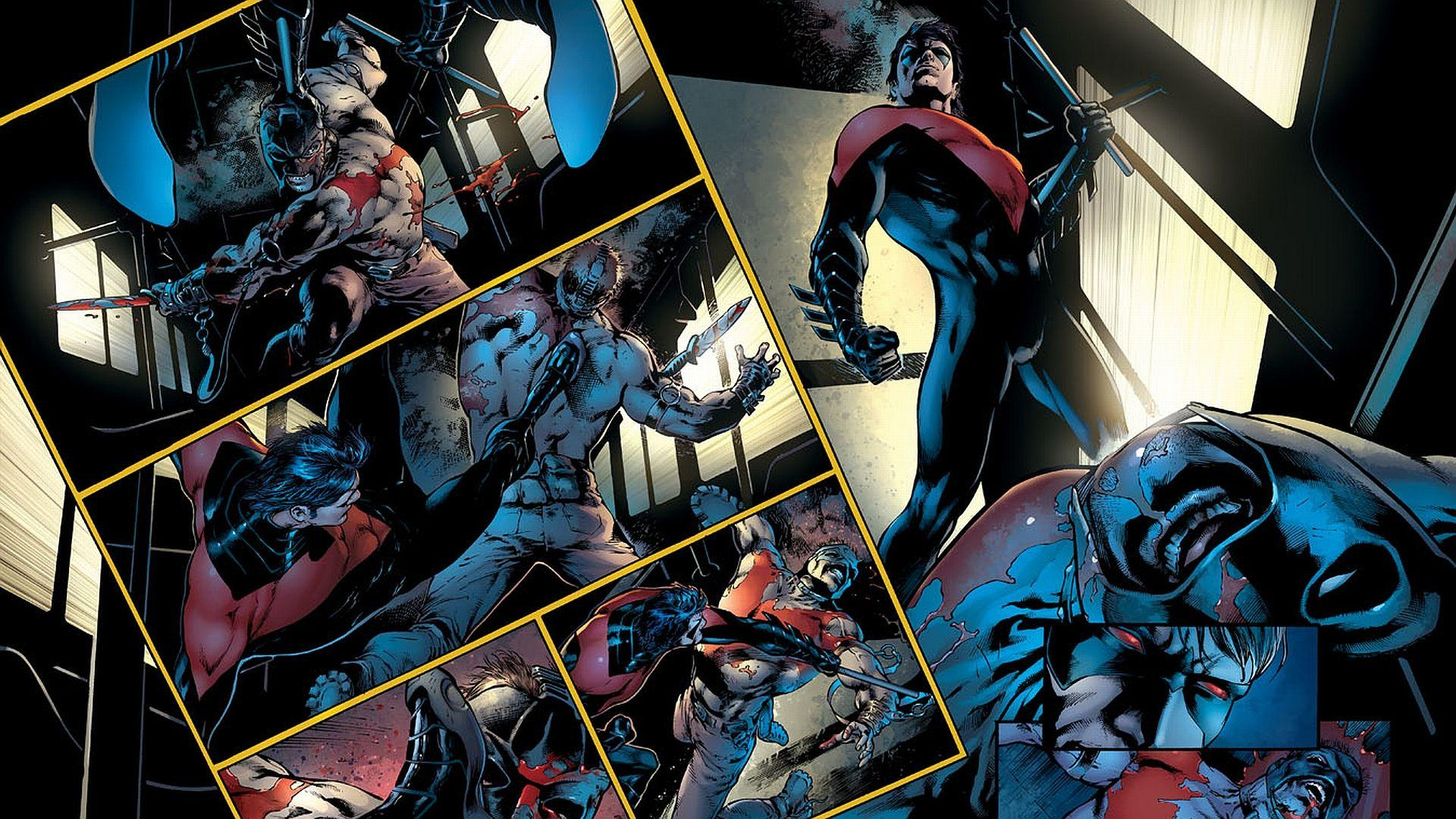 Batman And Nightwing Wallpapers HD