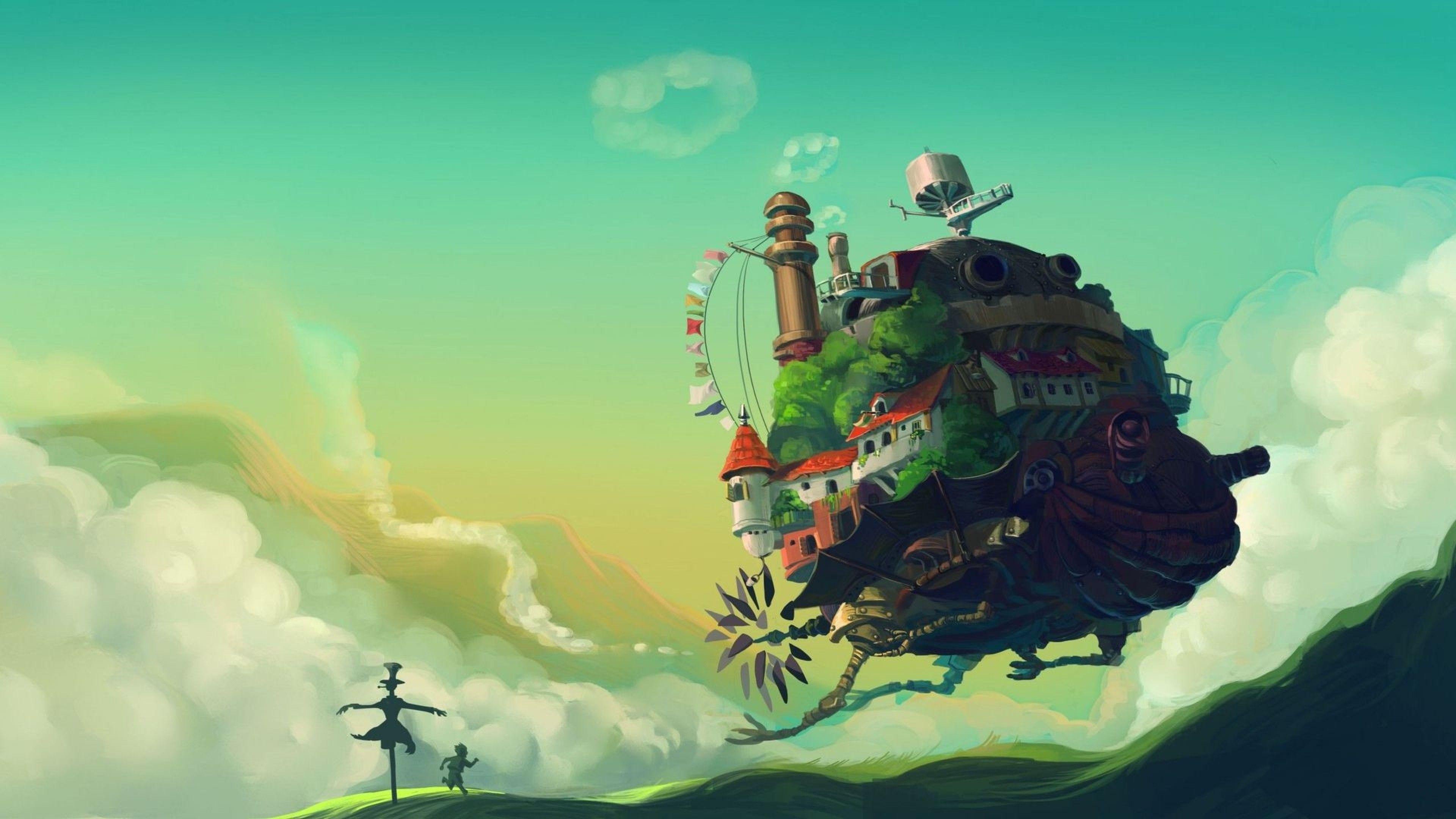 Studio Ghibli Desktop Wallpapers - Wallpaper Cave