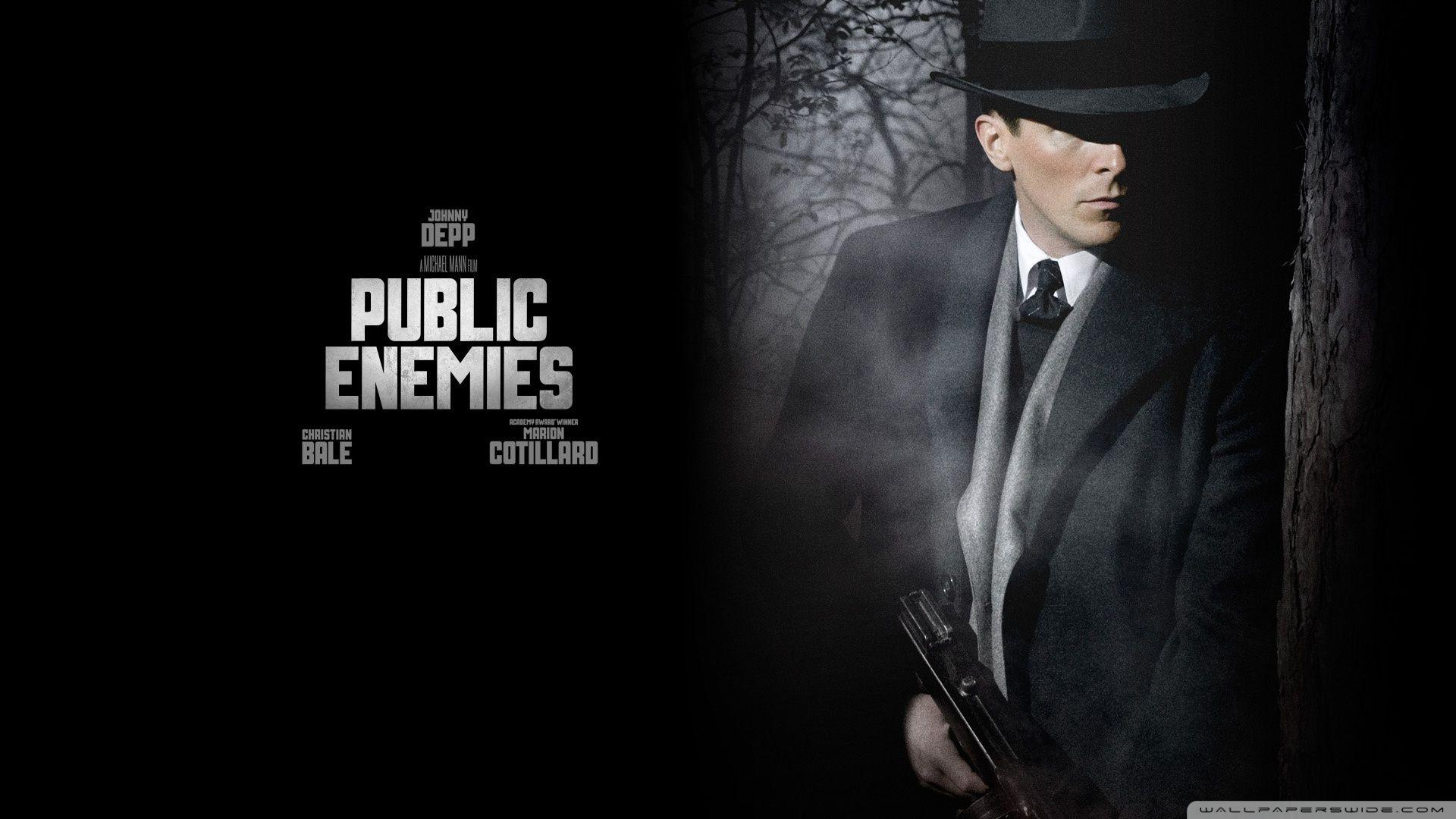 Christian Bale Public Enemies ❤ 4K HD Desktop Wallpapers for 4K