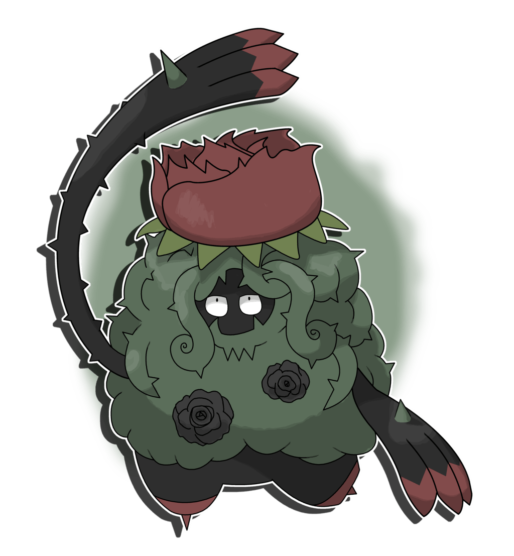 Tangrowth Alola Form by Mirror00