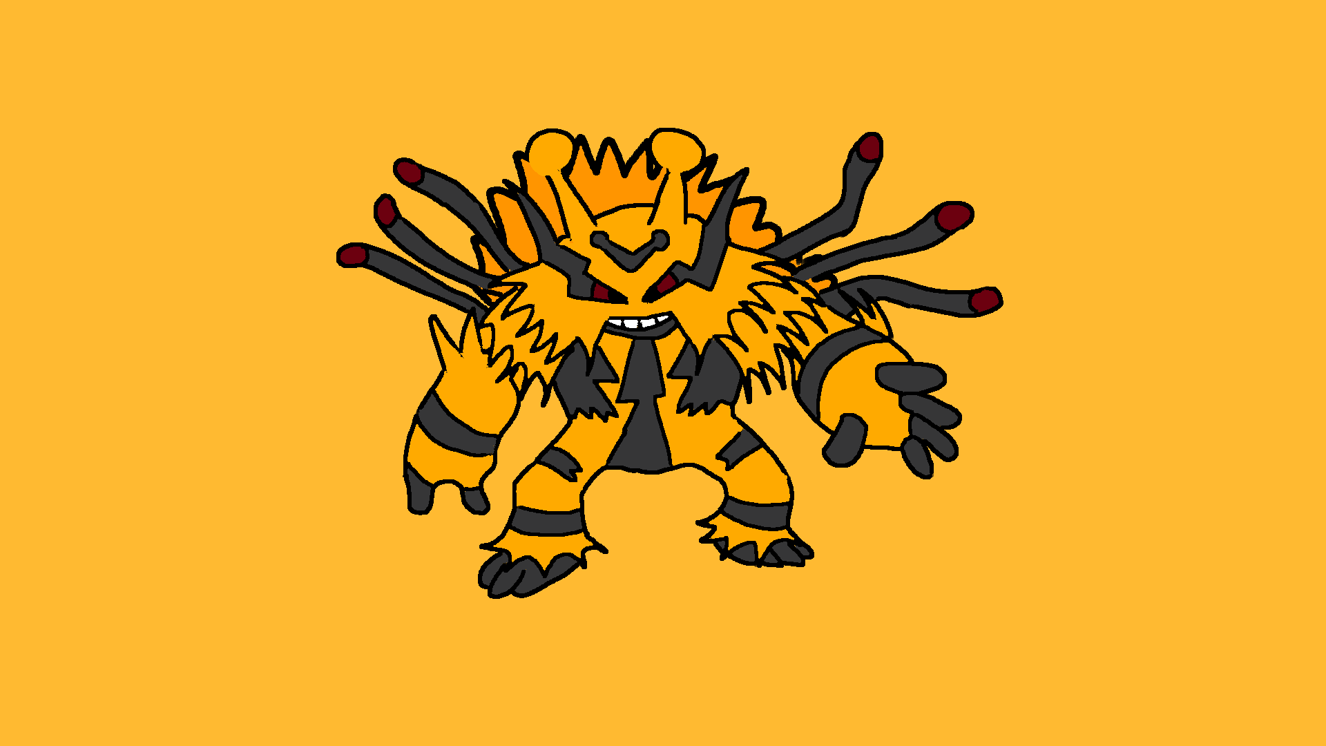 Mega Electivire OC Art : pokemon