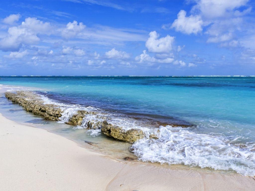 Backgrounds Blue Sea Beach Hd For Desktop Pictures On A Beautiful Of ..