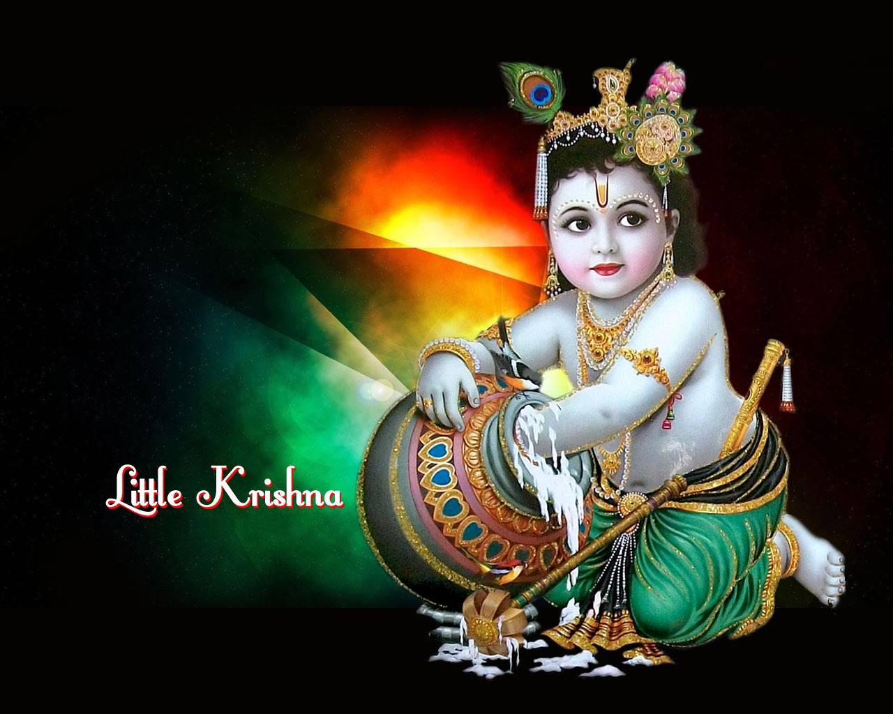 Baby Krishna Wallpapers Wallpaper Cave