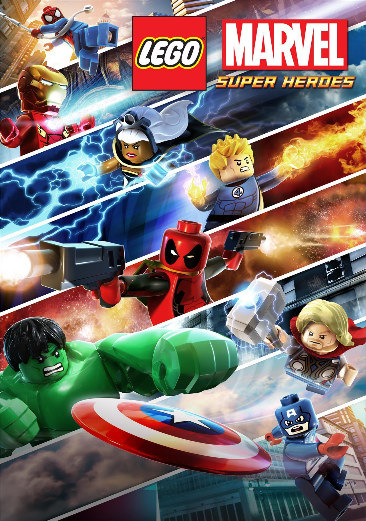 Lego Marvel Superheroes HD Wallpapers - Wallpaper Cave