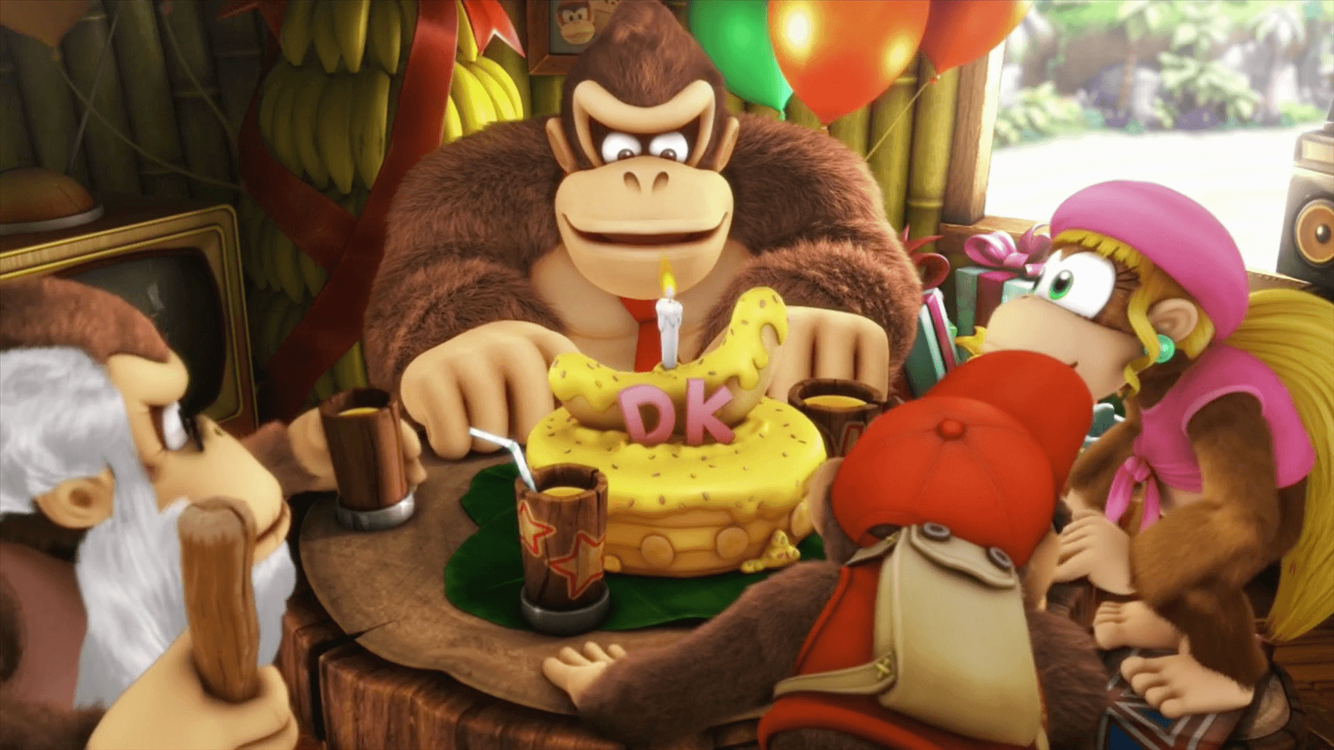 Donkey Kong Country Tropical Freeze Wallpapers Wallpaper Cave