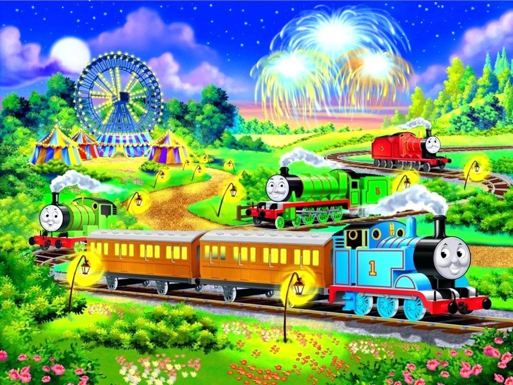 Thomas The Train Wallpaper Border Desktop Tank Engine Wallpapers Kargo