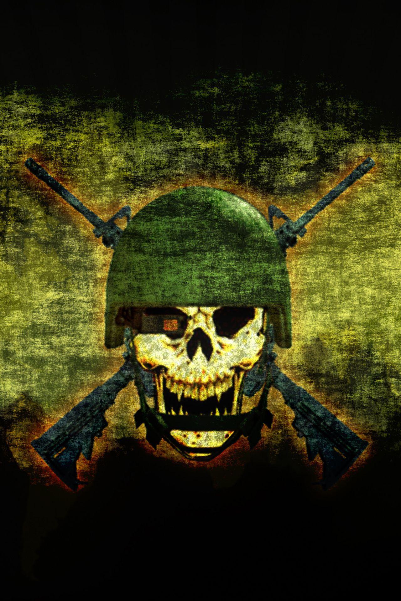 Army Skull Hd Wallpaper For Mobile | kadada org