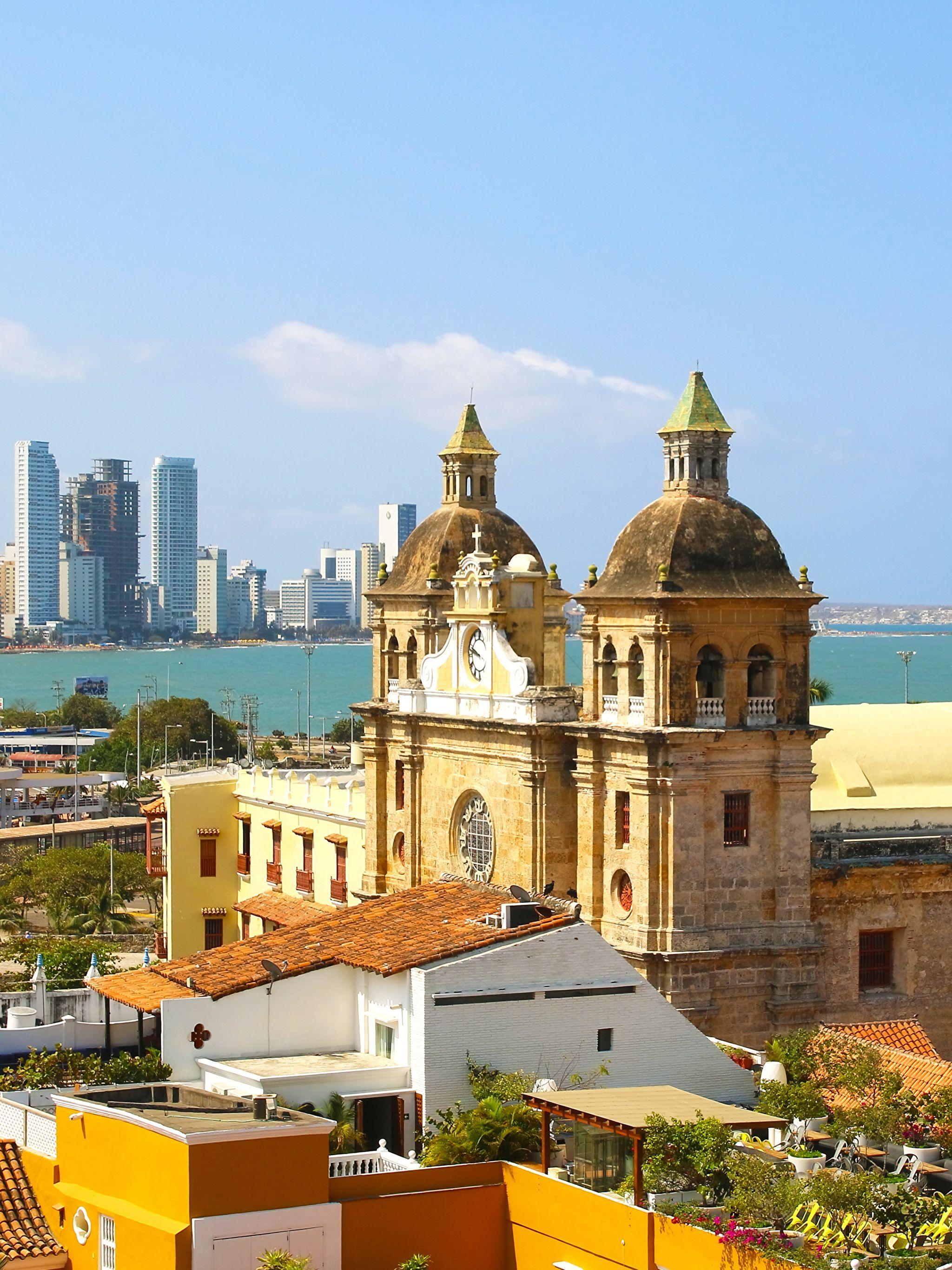 Images Colombia Tower Cartagena Cities Houses 2048x2732