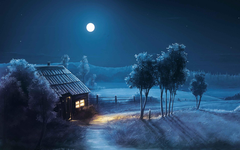 Download Wallpaper Hd Nature Night Hd Cikimmcom