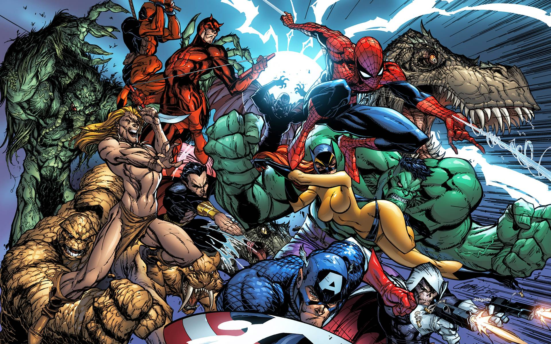 Marvel Wallpapers Widescreen Wallpaper Cave