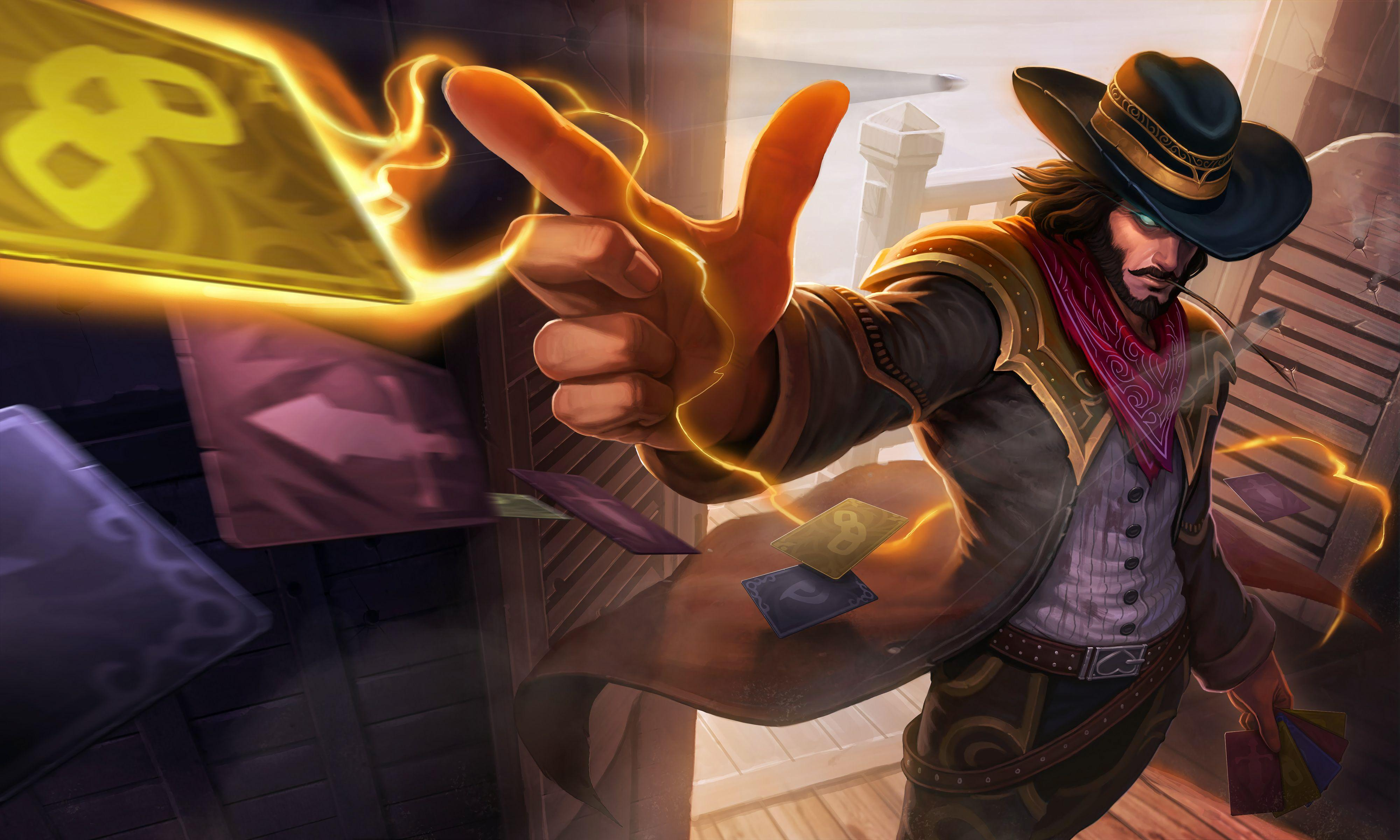 League Of Legends Wallpapers Twisted Fate Wallpaper Cave