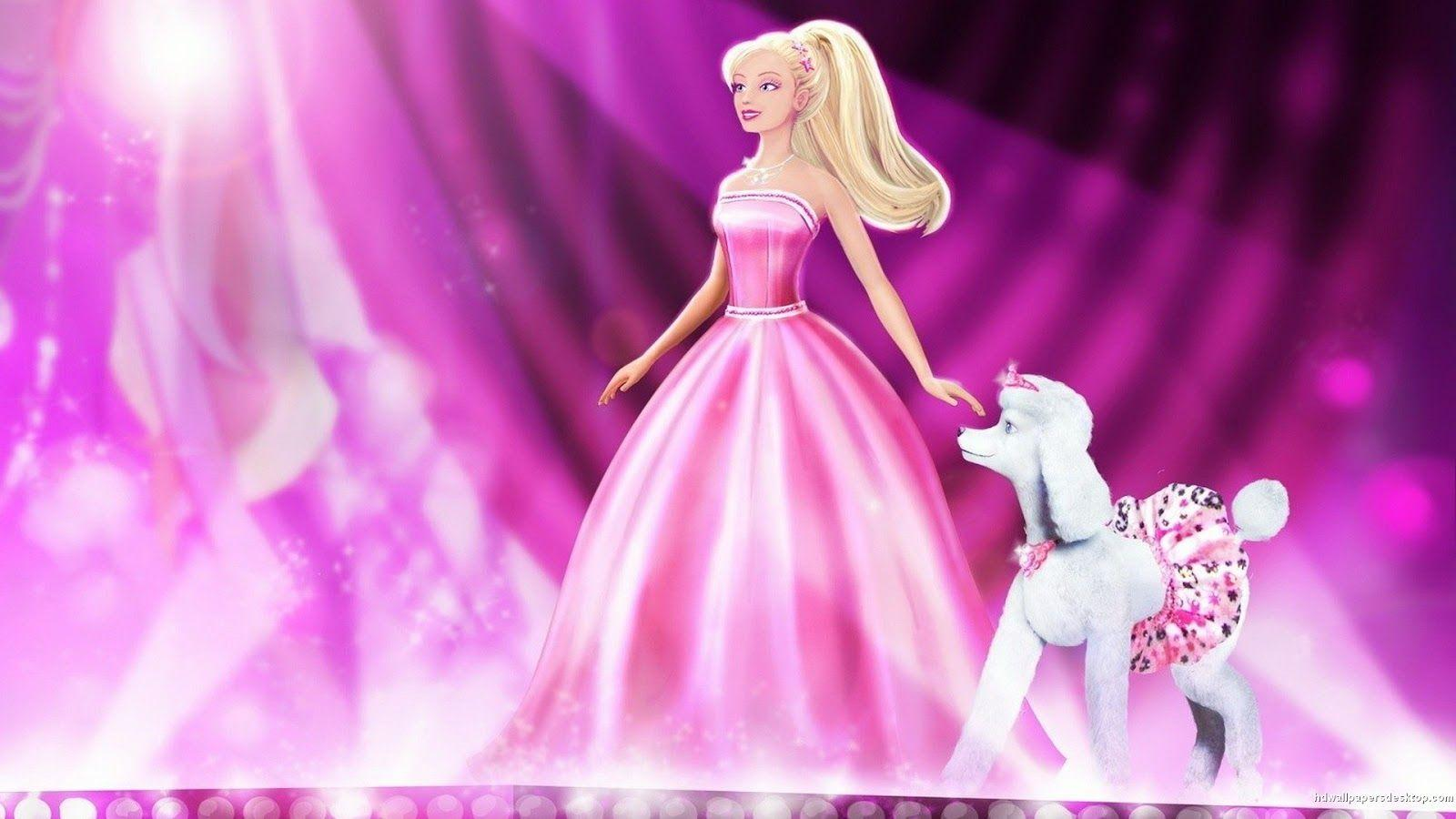 Barbie Doll Wallpapers With Rose Wallpaper Cave