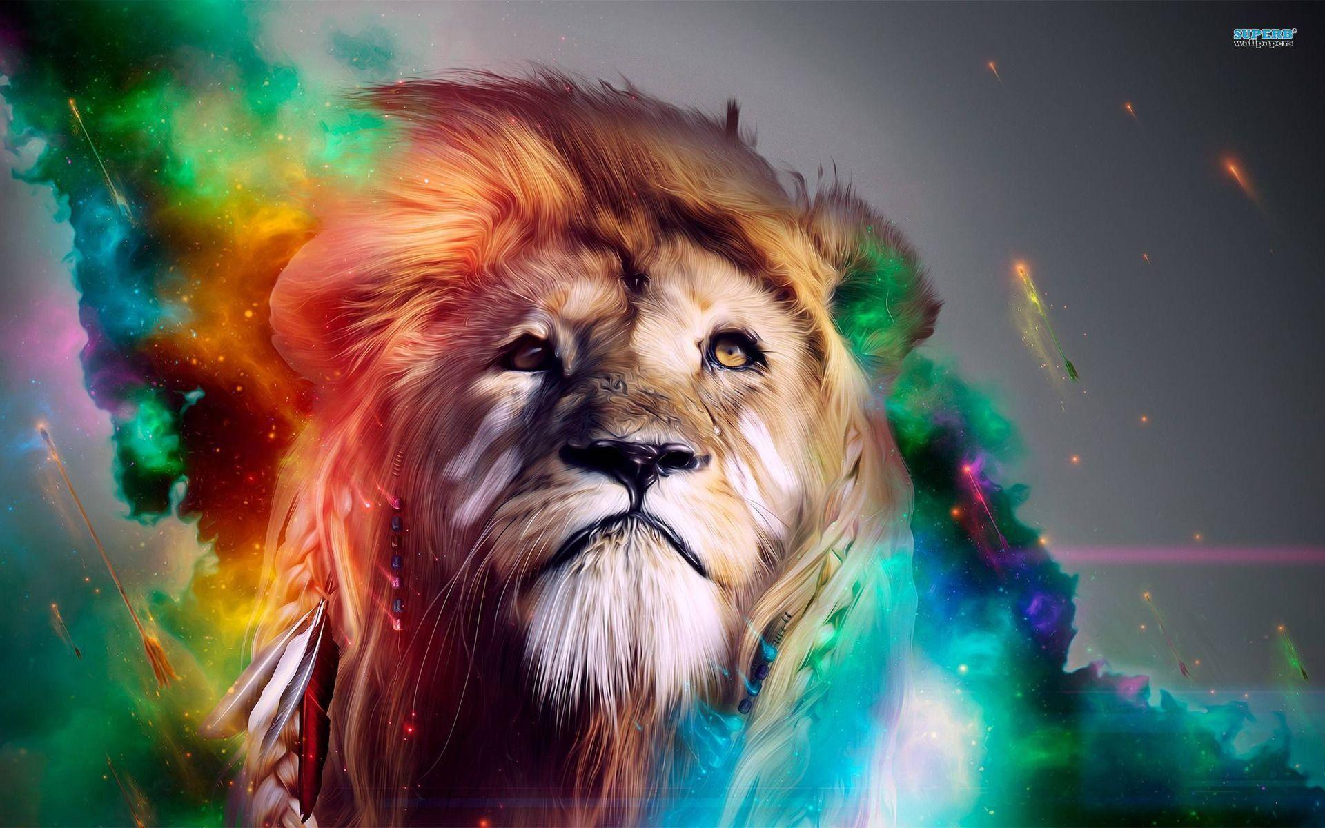 Cool Lion Backgrounds Wallpaper Cave