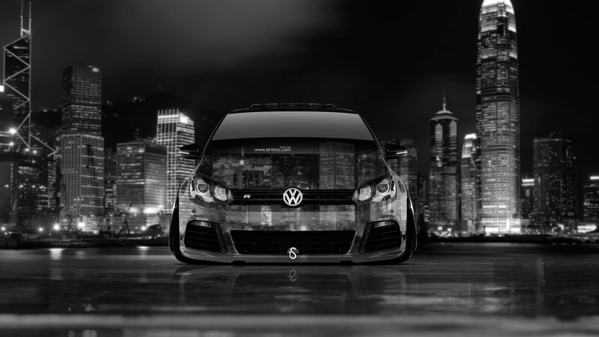Volkswagen Golf R Car Wallpapers reflect your style in rich fashion
