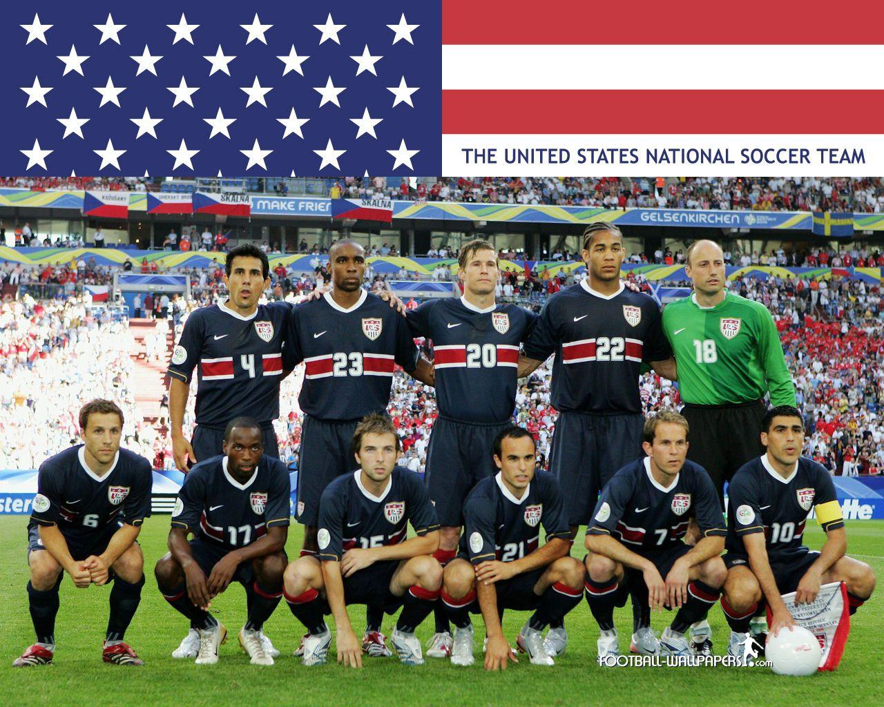 United States National Soccer Team Zoom Background 6