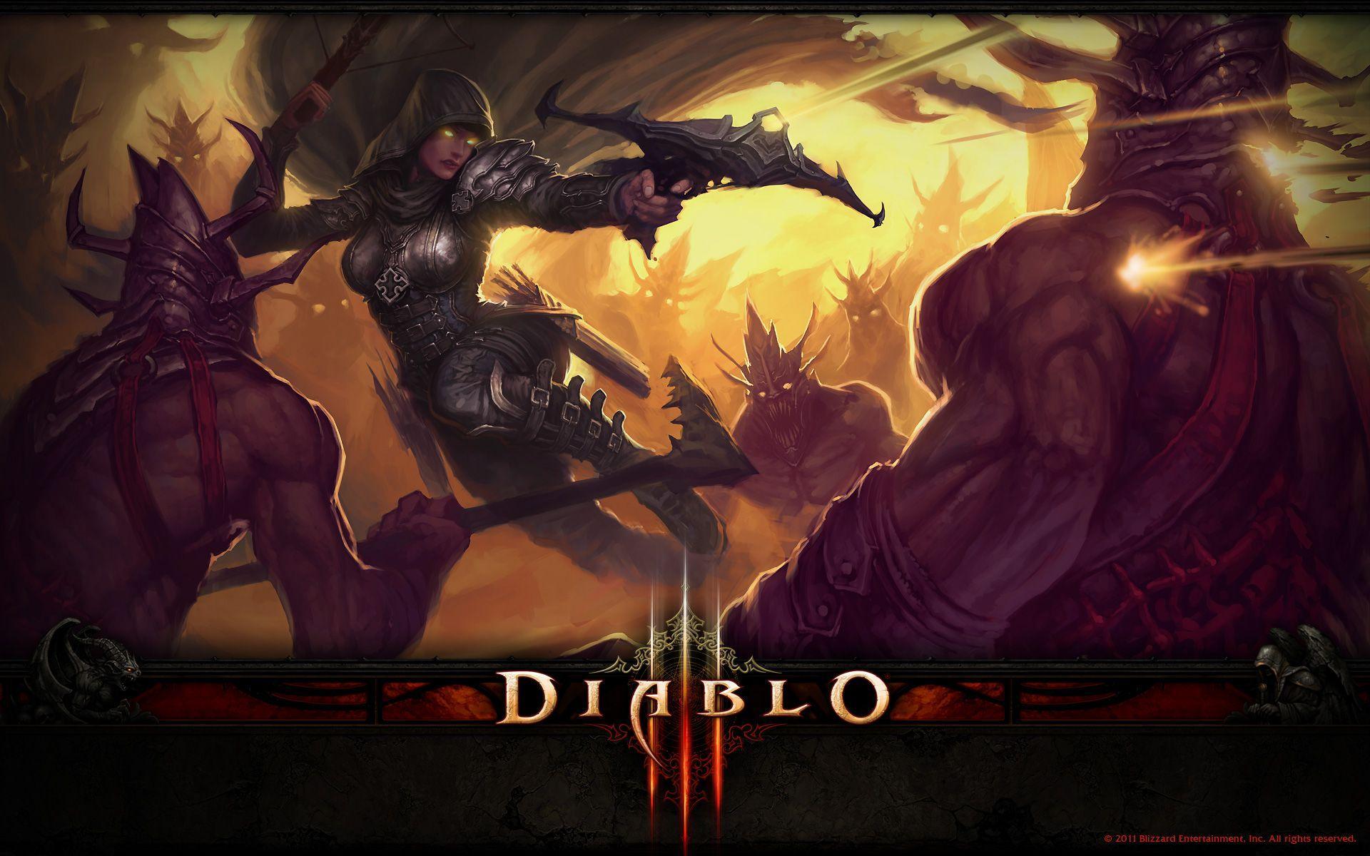 Demon Hunter D3 Hd Wallpapers Wallpaper Cave