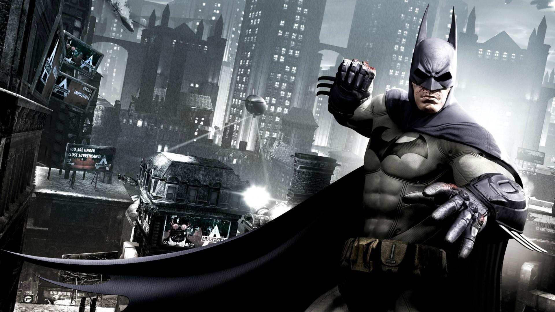 Banner do game Batman: Arkham Collection em mídia digital para PS4