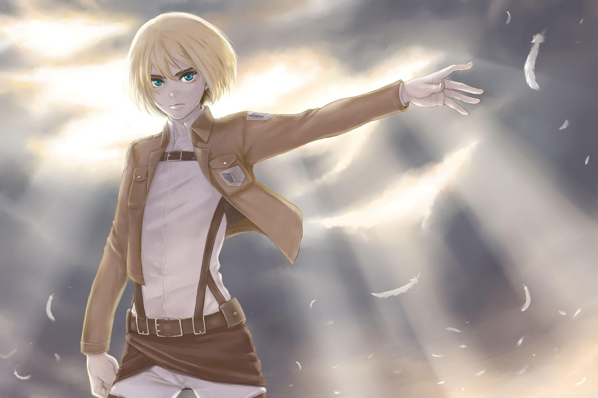 Shingeki No Kyojin Wallpapers Armin Wallpaper Cave