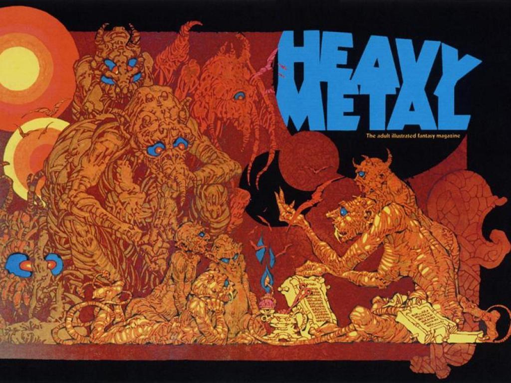 Heavy Metal Magazine Wallpapers Wallpaper Cave
