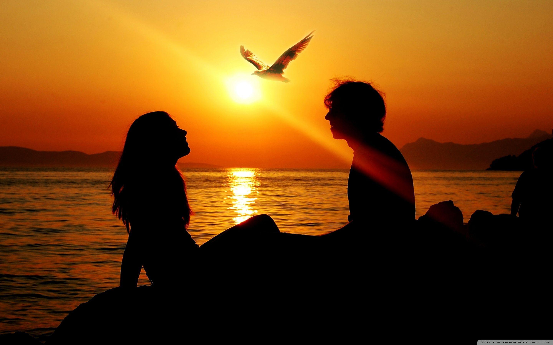 Unduh 610 Gambar Animasi Romantis Di Pantai Paling Keren