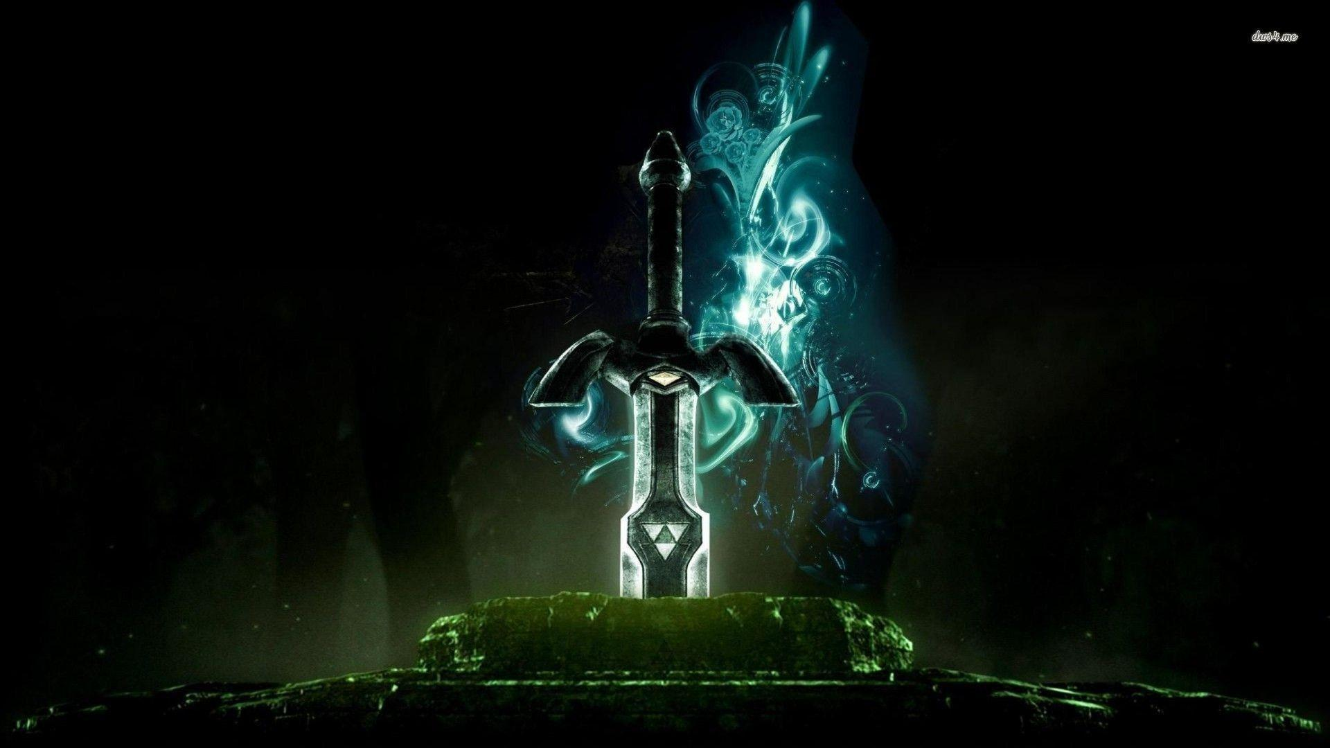 Legend Of Zelda Master Sword Wallpapers Wallpaper Cave