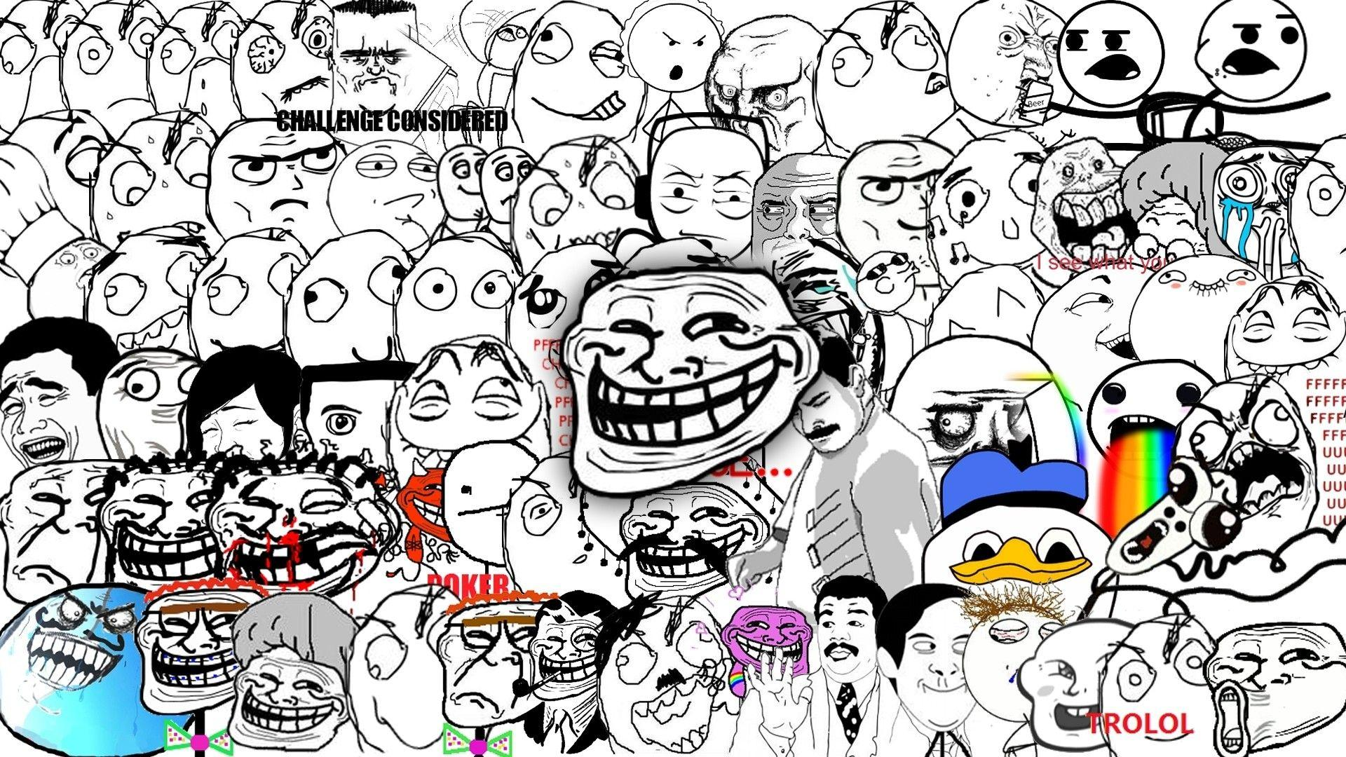 Troll Face Backgrounds Hd Wallpaper Cave