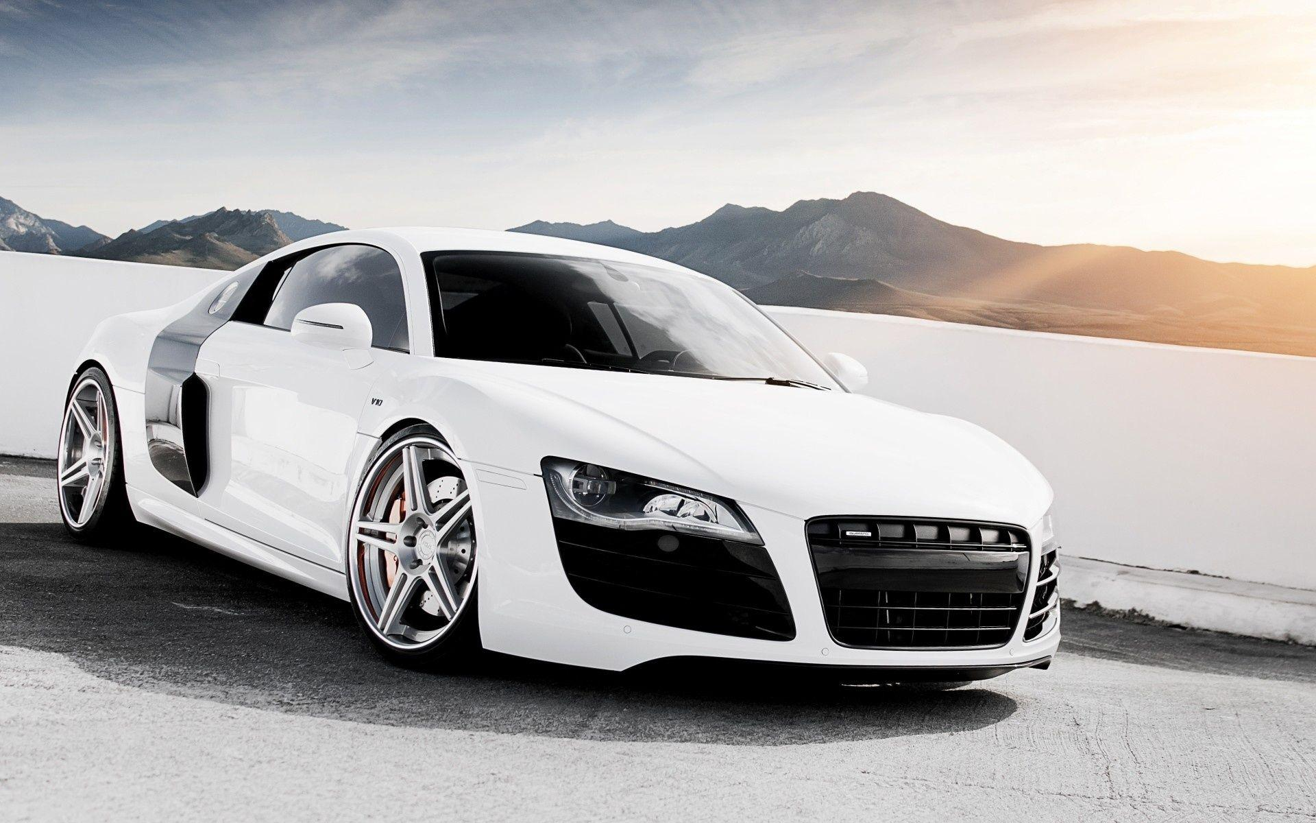 Audi R8 Wallpapers White