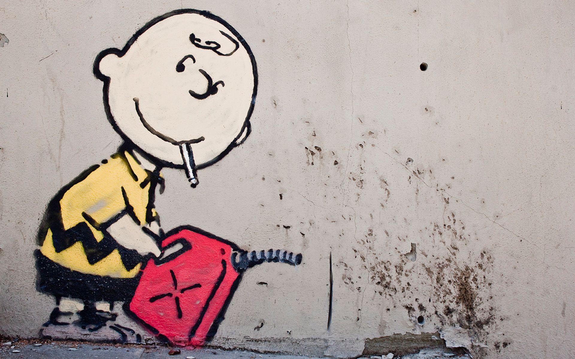 Banksy Graffiti Wallpaper Hd