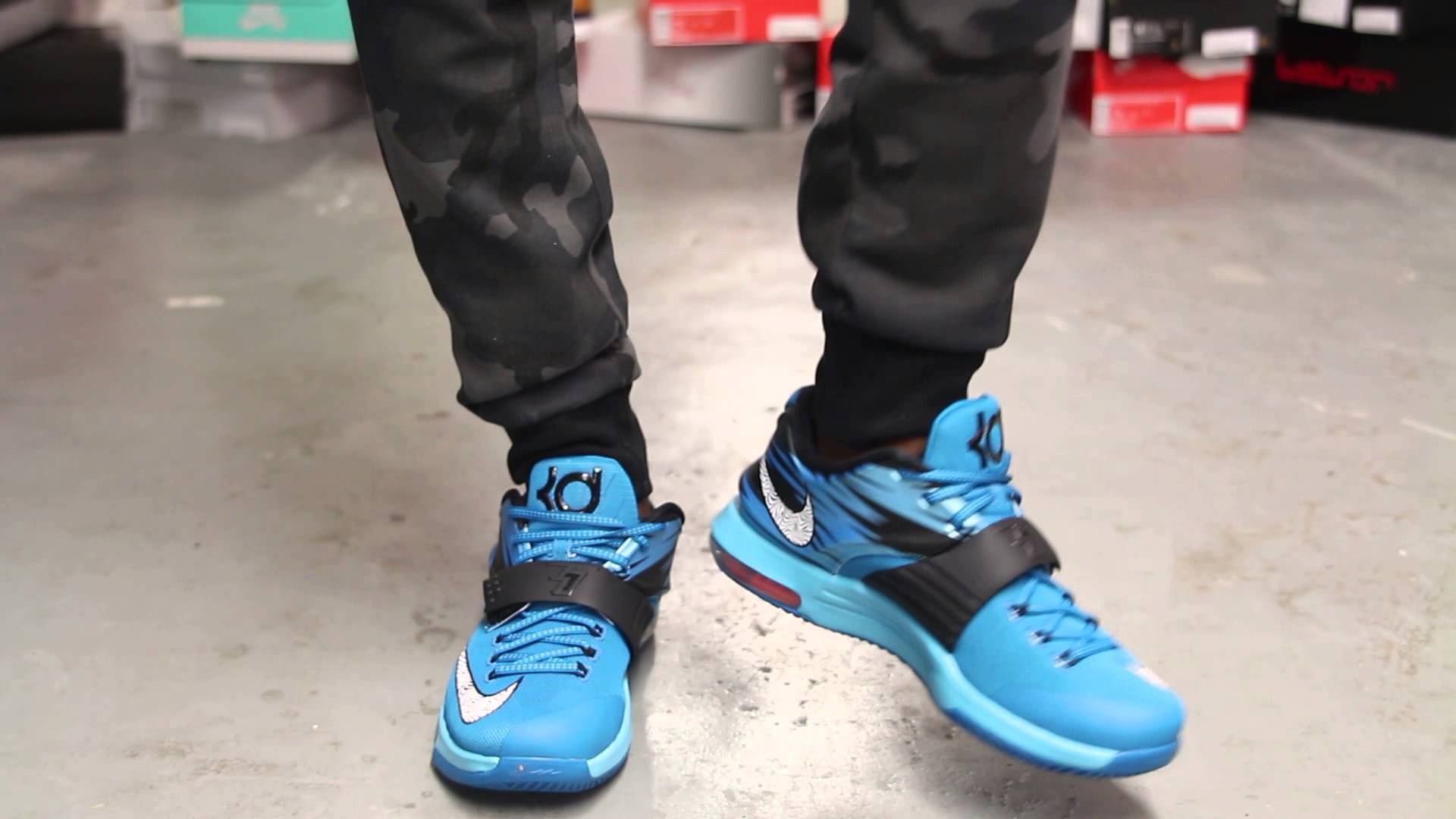 brand new bc200 66d19 ... promo code for nike kd 7 blue 8d46a 88c2c