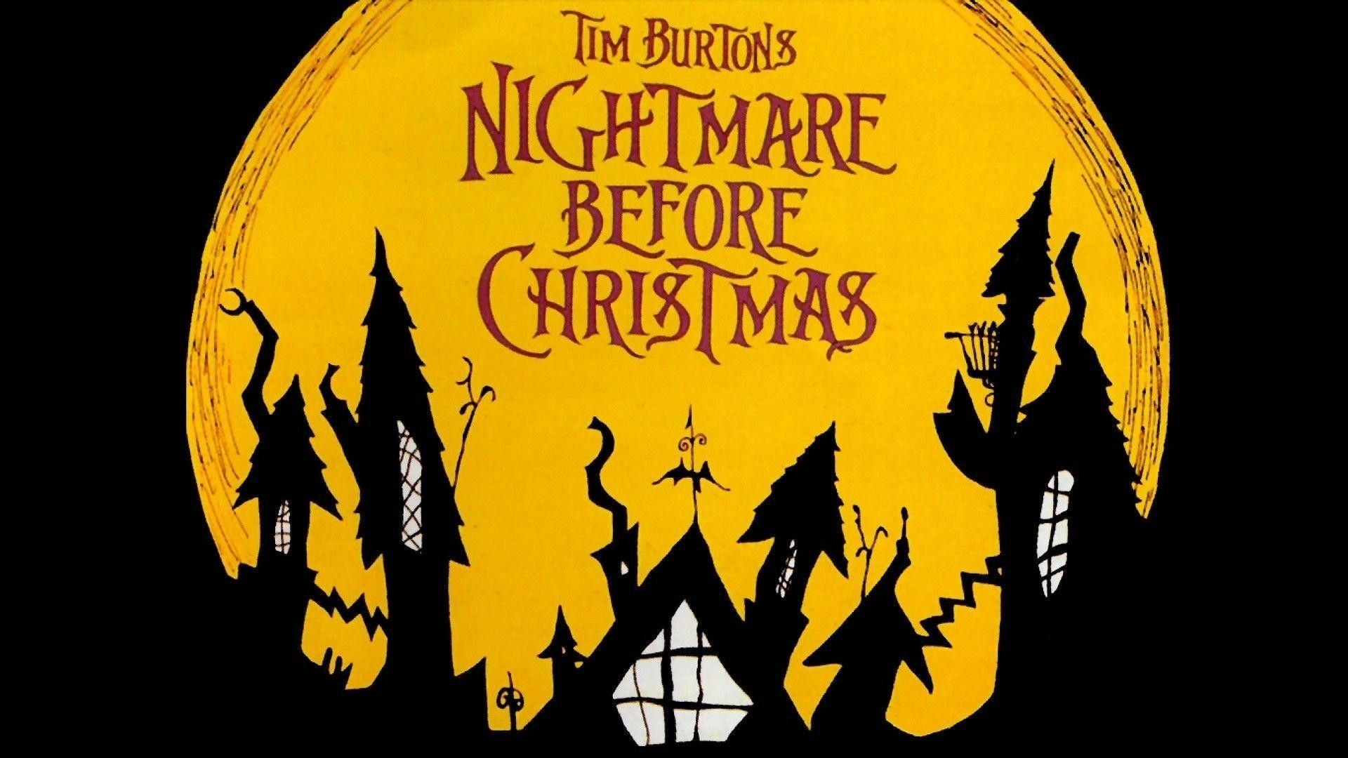 Nightmare Before Christmas Hd Wallpapers Wallpaper Cave