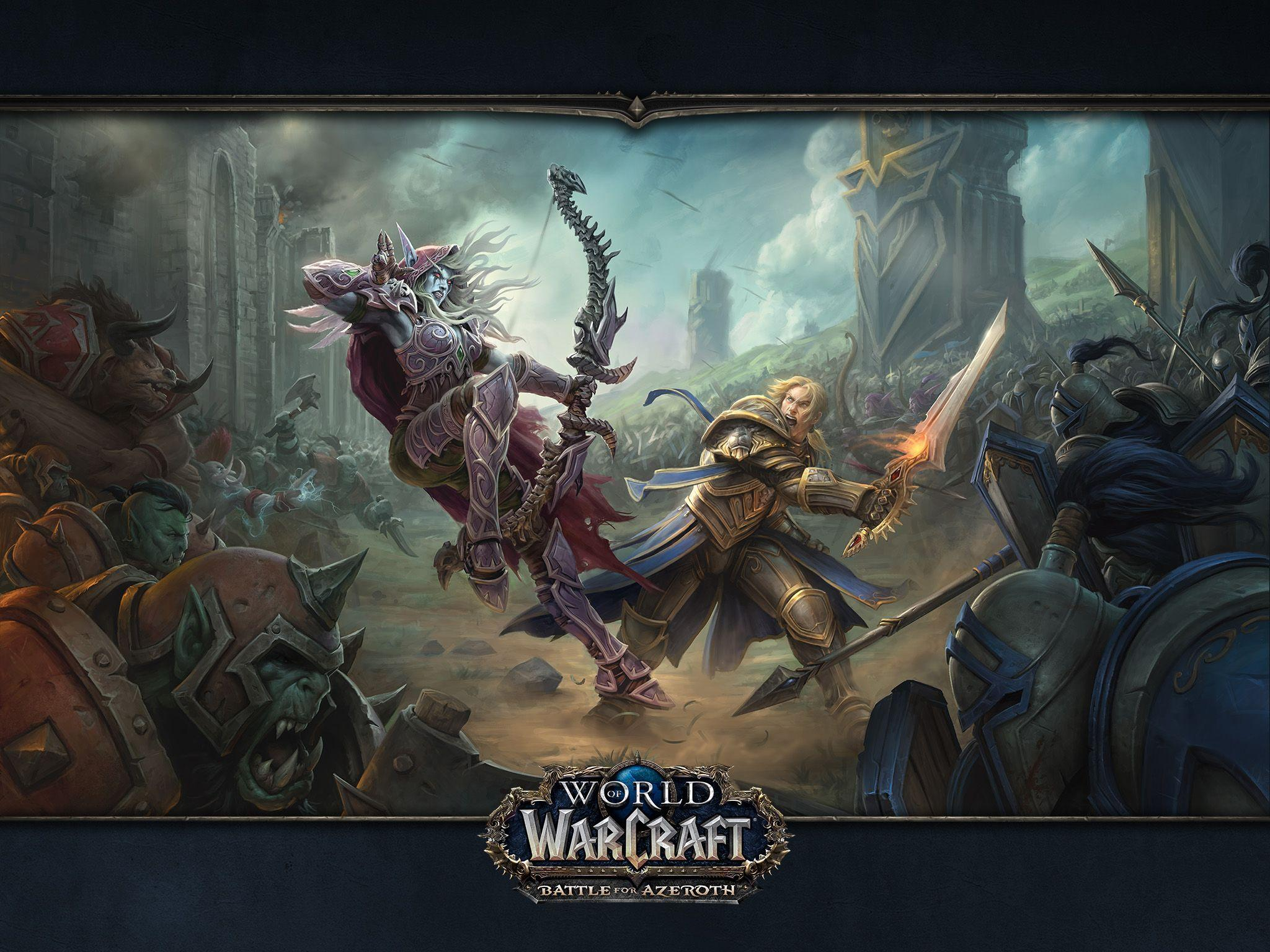 World Of Warcraft Battle For Azeroth Wallpapers Wallpaper Cave