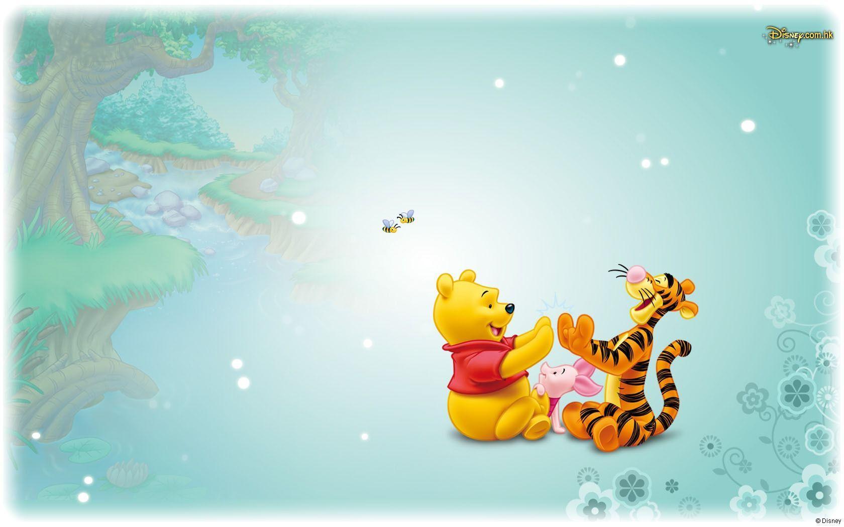 Disney Pooh Wallpapers Wallpaper Cave