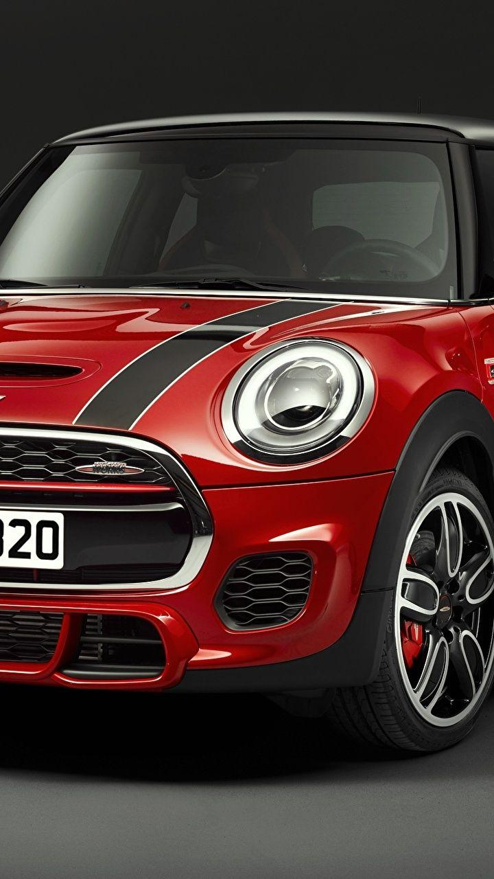 Wallpapers F56 Mini Cooper Red Front automobile 720x1280