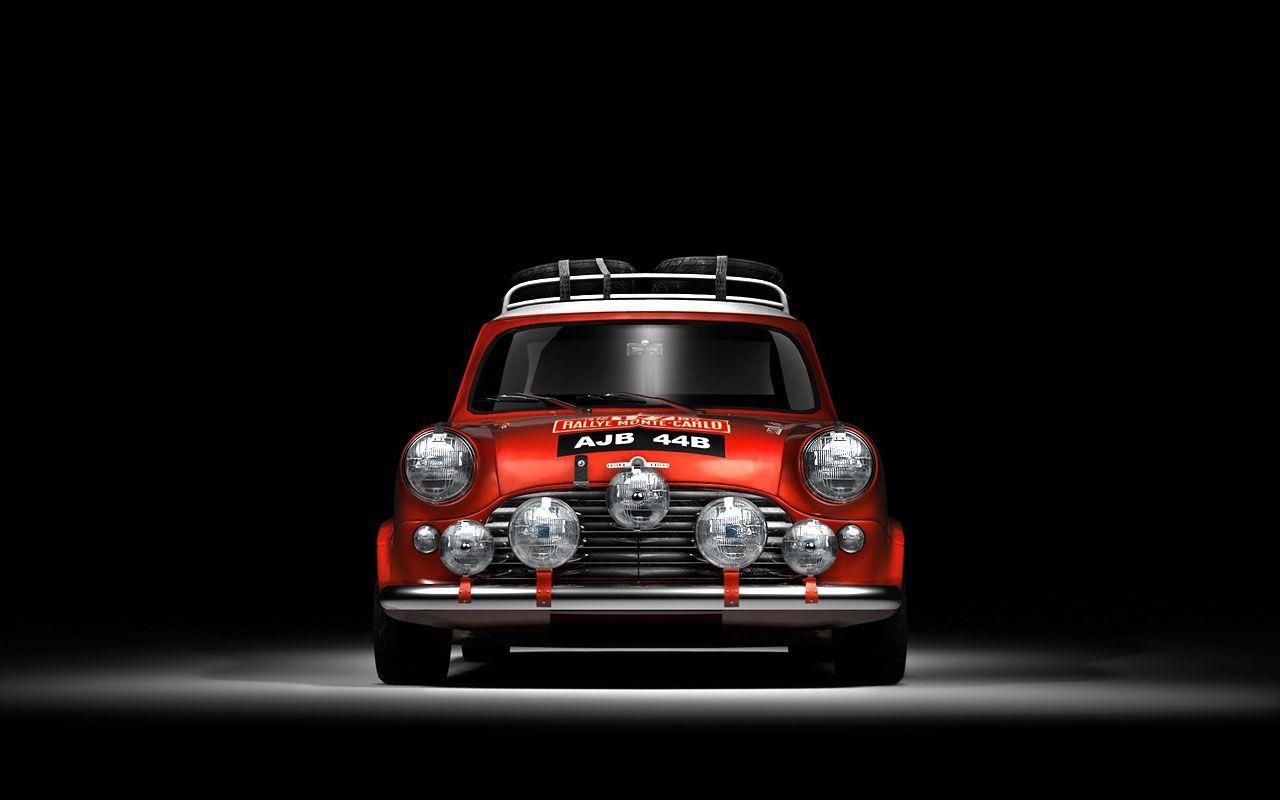 Quality Wallpapers of Mini Cooper Rally and Racing Sports Cars