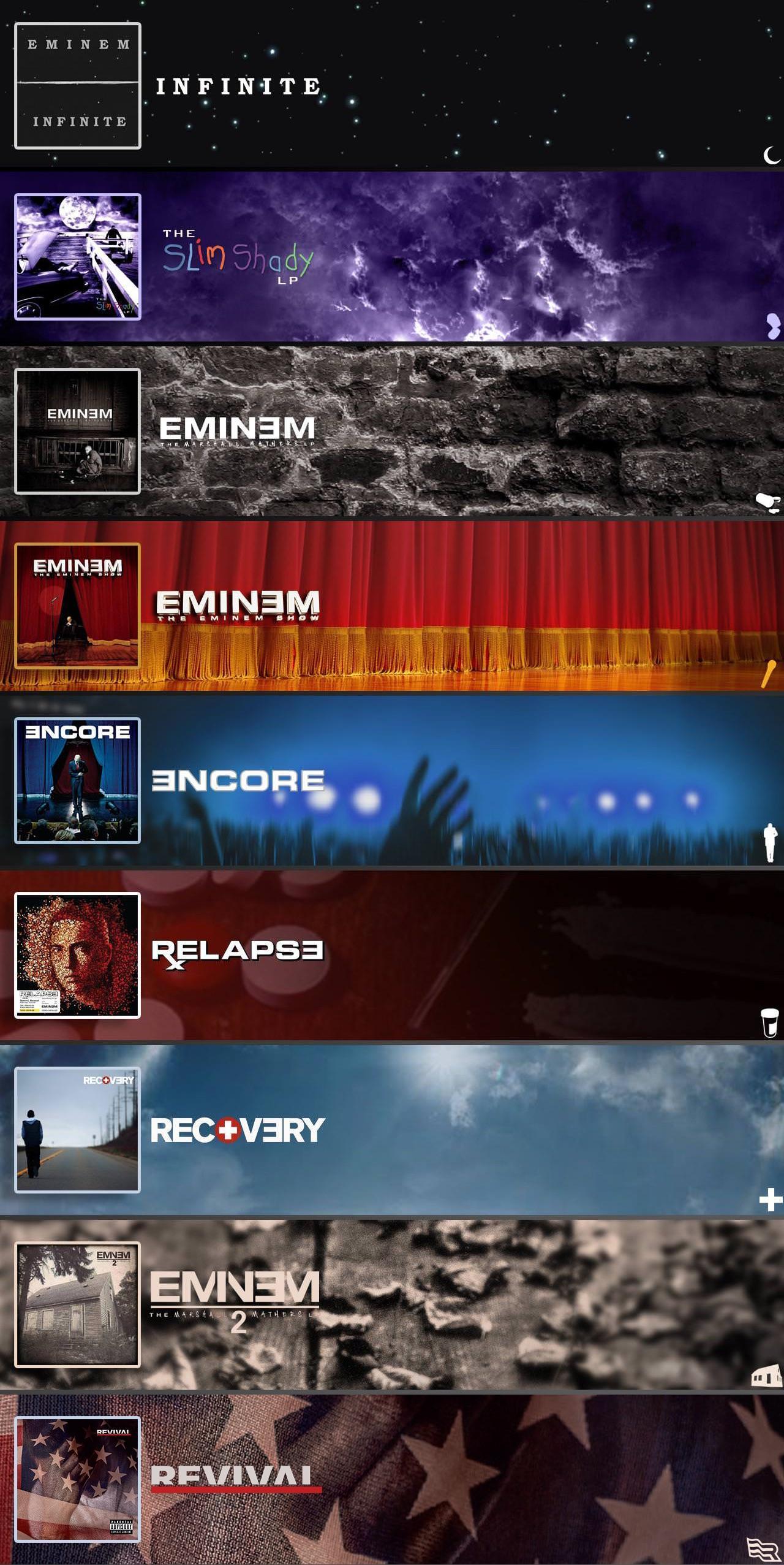 Eminem Album Iphone Wallpapers Wallpaper Cave