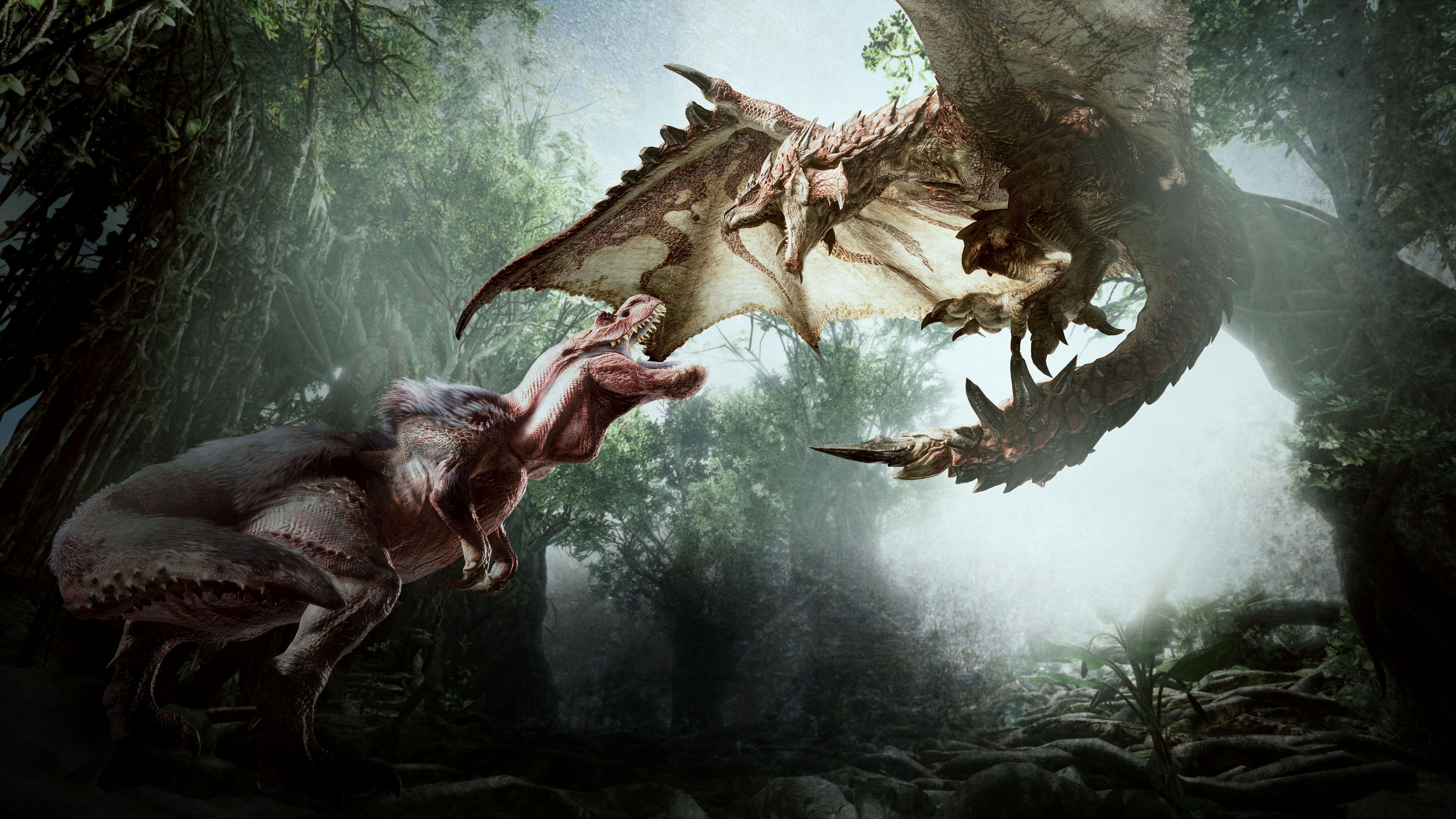 17 Monster Hunter: World HD Wallpapers