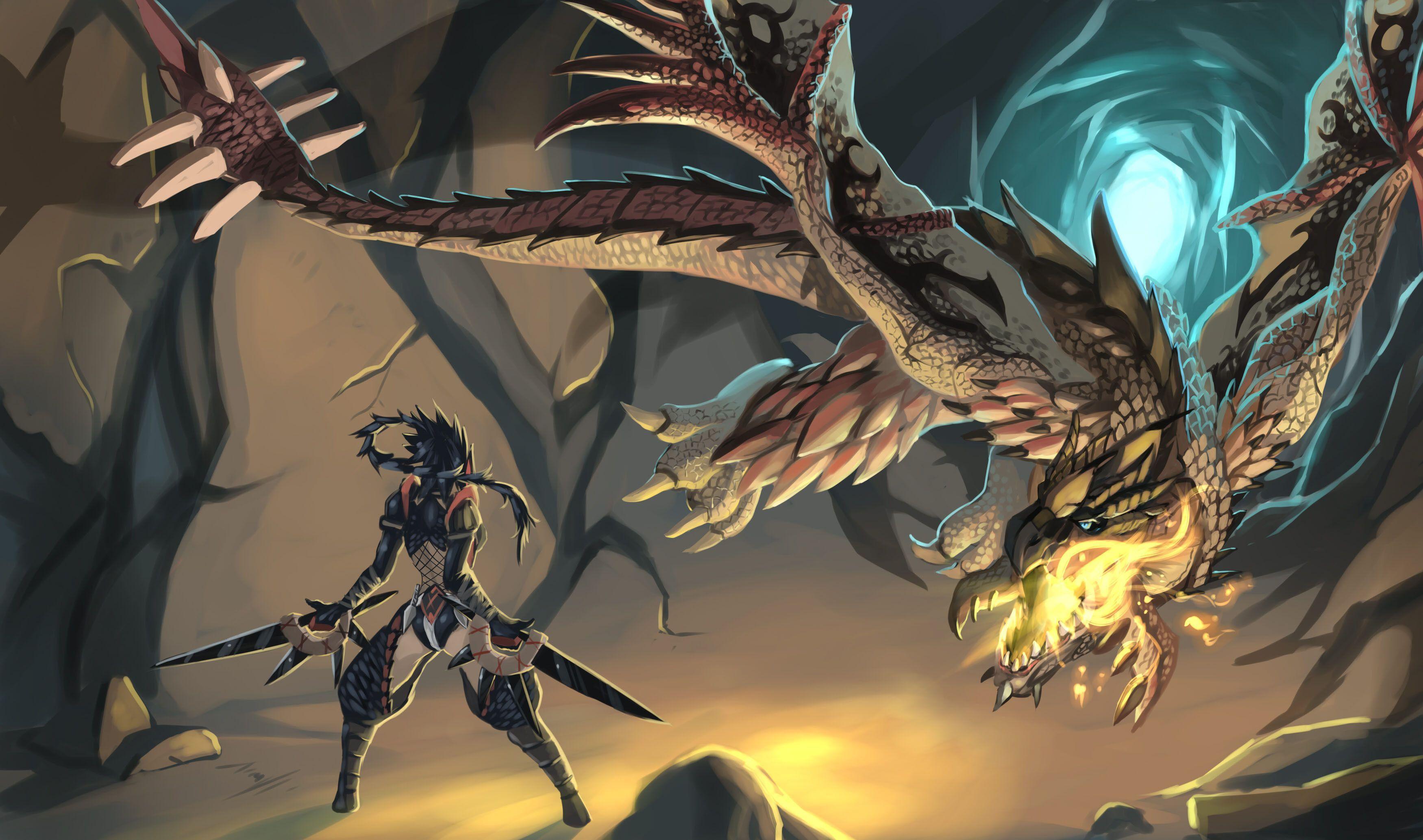 Monster Hunter Desktop Wallpapers Wallpaper Cave