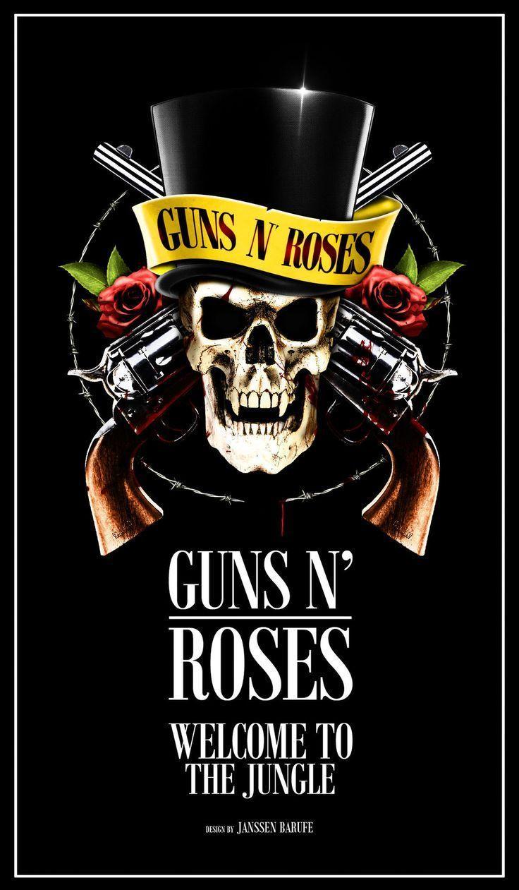 Guns N Roses Logo Wallpapers HD - Wallpaper Cave