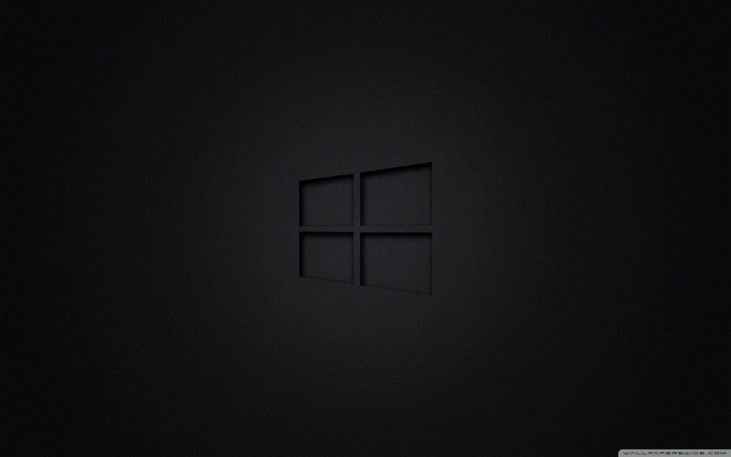 Black Windows Hd Wallpaper Wallpaper Cave
