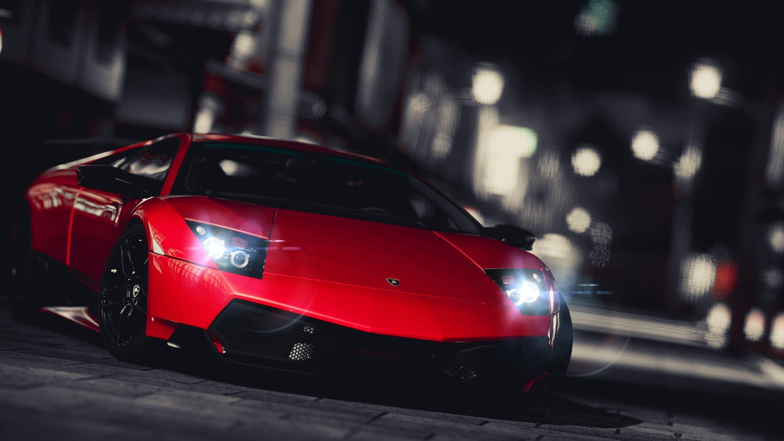 Lamborghini Night Wallpapers Wallpaper Cave