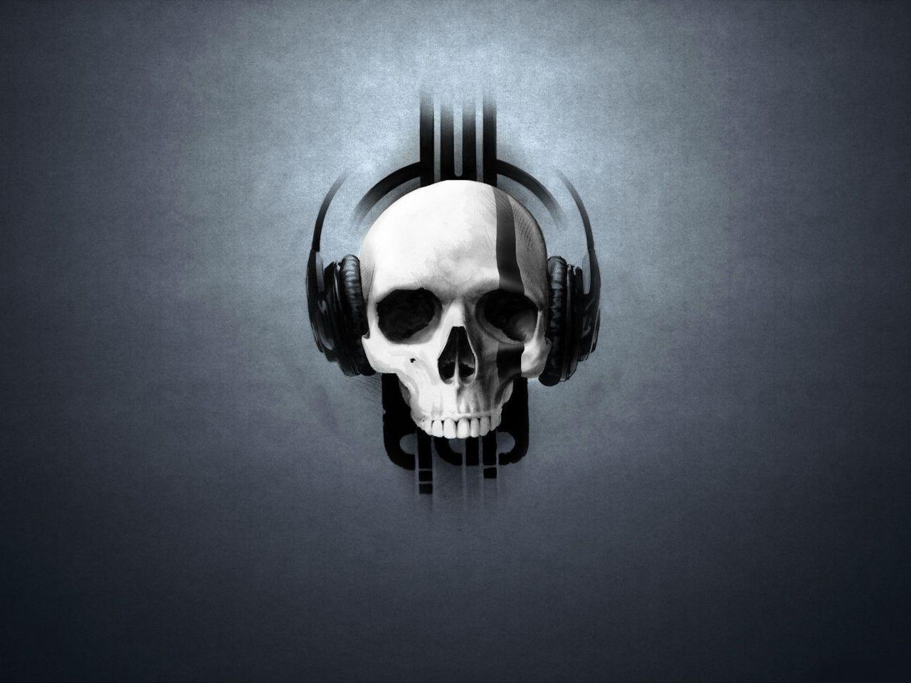 bad94b9290f 47648 skull headphones wallpaper, headphones wallpaper - HD Wallpaper