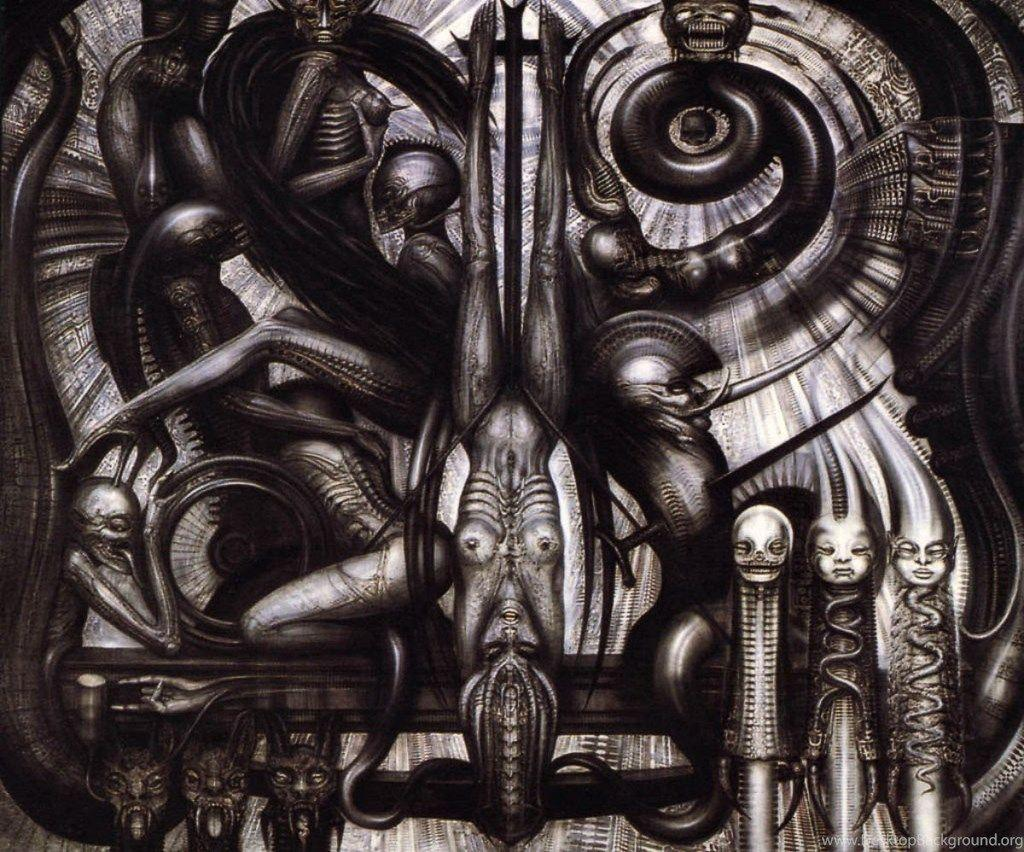Hr Giger Cell Phone Wallpapers Wallpaper Cave