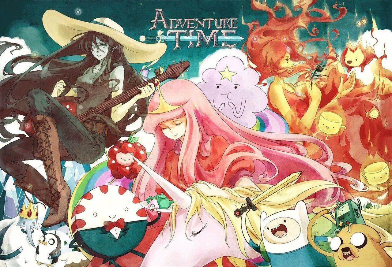 Anime Adventure Time Wallpapers Wallpaper Cave