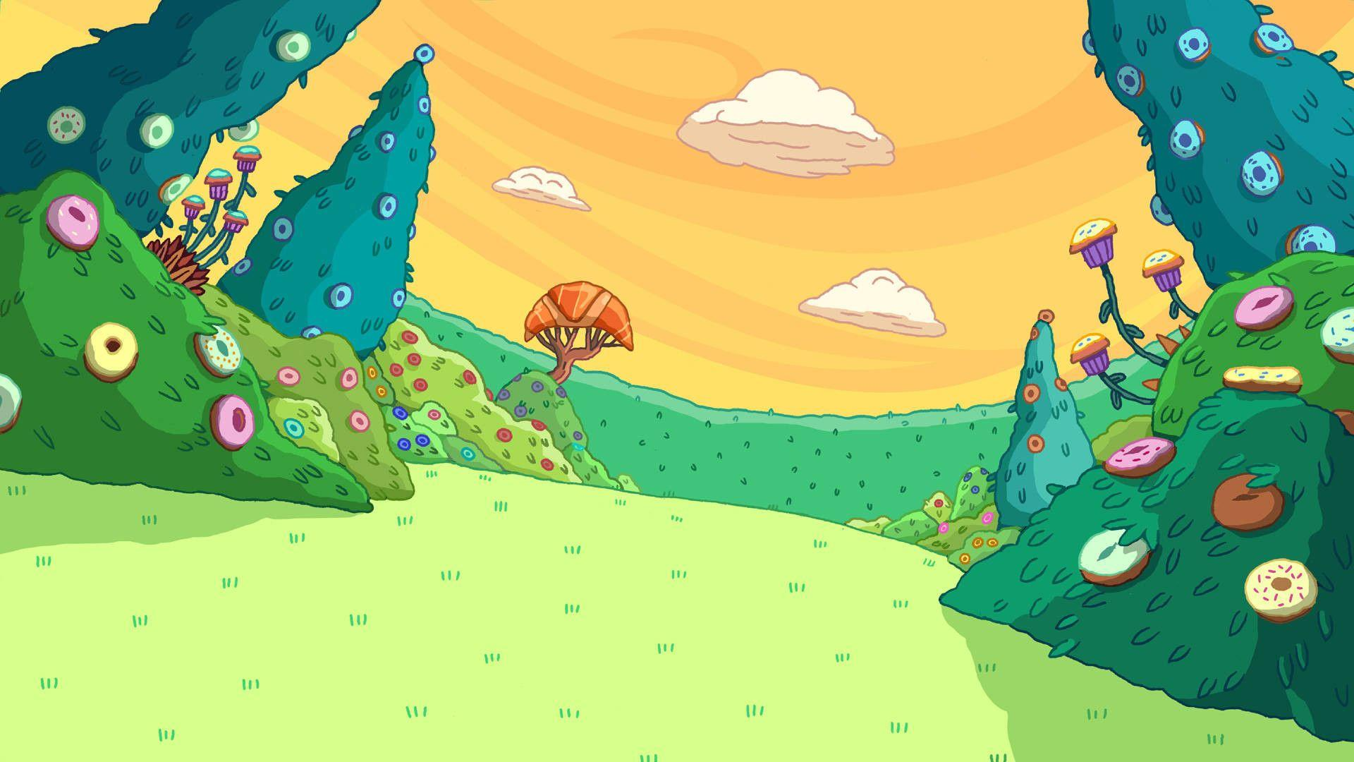 Adventure Time Backgrounds Scenery Wallpaper Cave