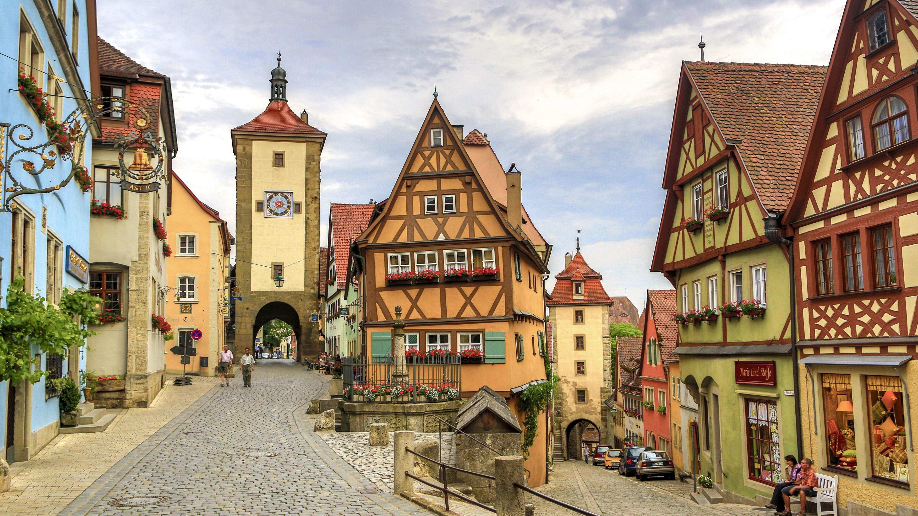 The Charming Rothenburg Ob Der Tauber