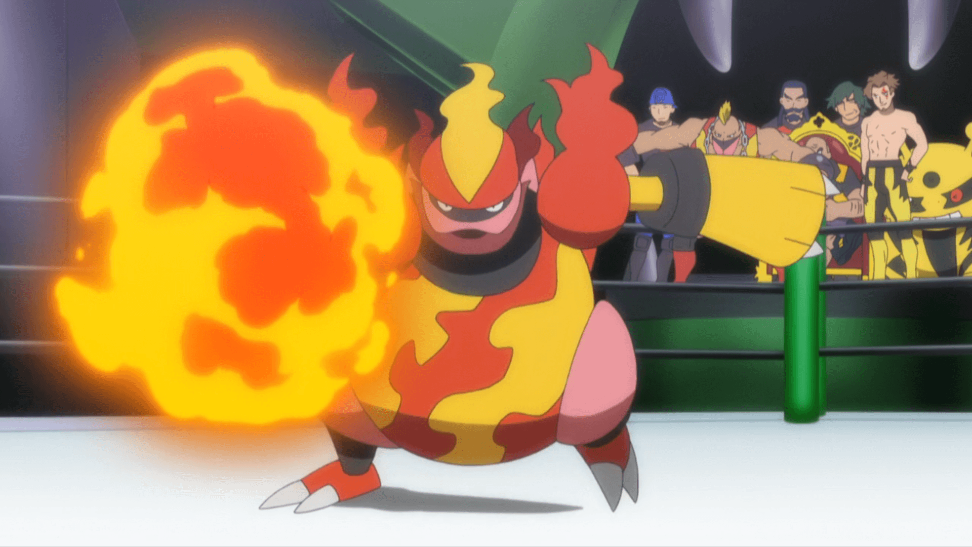 Image - Mad Boober Magmortar Fire Punch.png | Pokémon Wiki | FANDOM ...